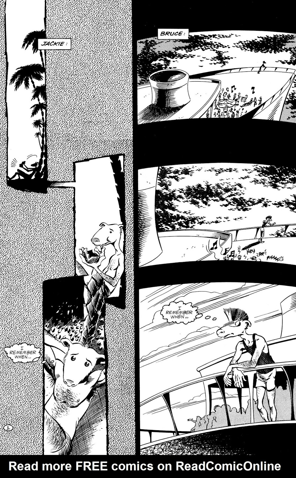 Adolescent Radioactive Black Belt Hamsters (1986) issue 9 - Page 3