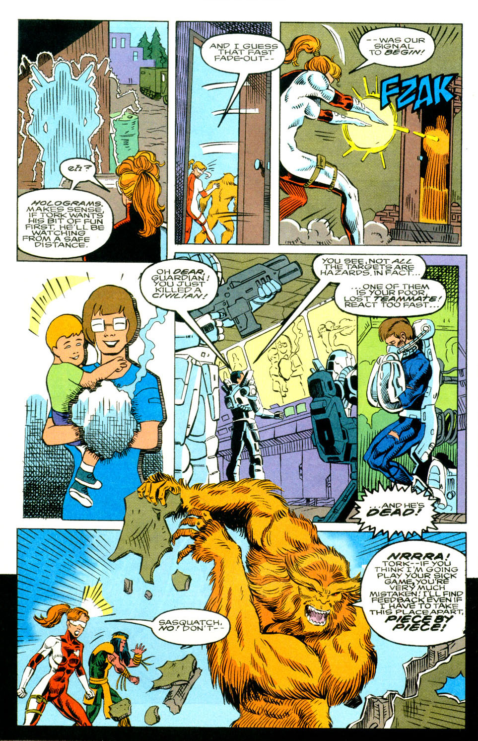 Read online Alpha Flight (1983) comic -  Issue #129 - 5