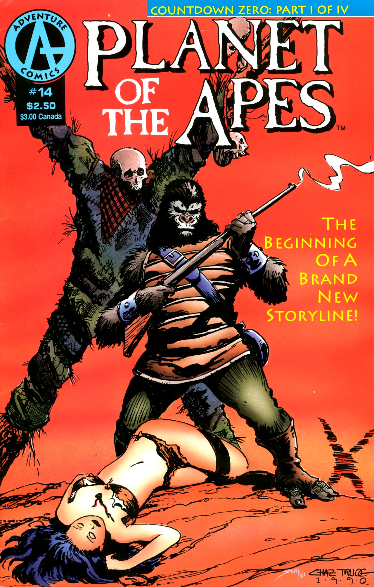 Planet of the Apes (1990) 14 Page 1