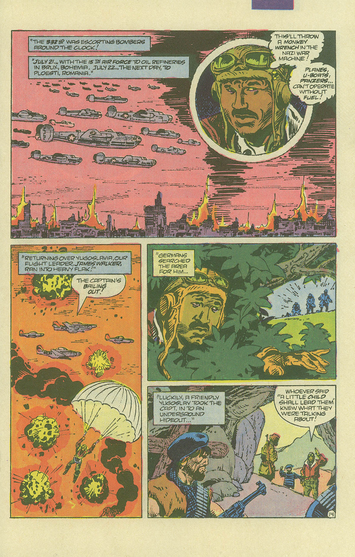 Read online Sgt. Rock comic -  Issue #406 - 18