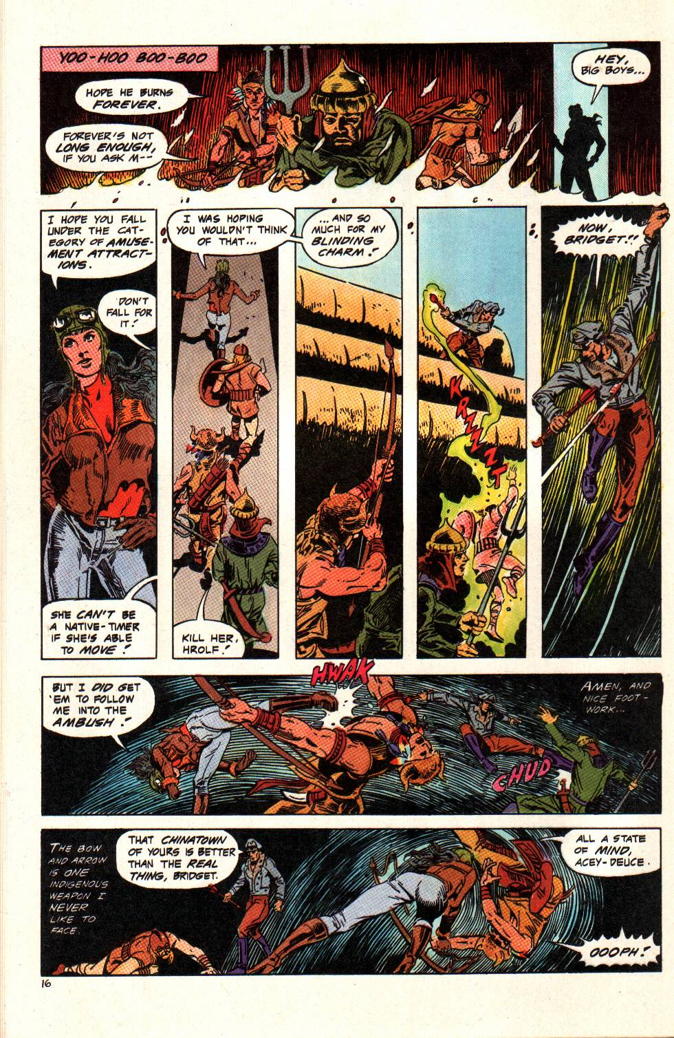 Read online Aztec Ace comic -  Issue #6 - 17