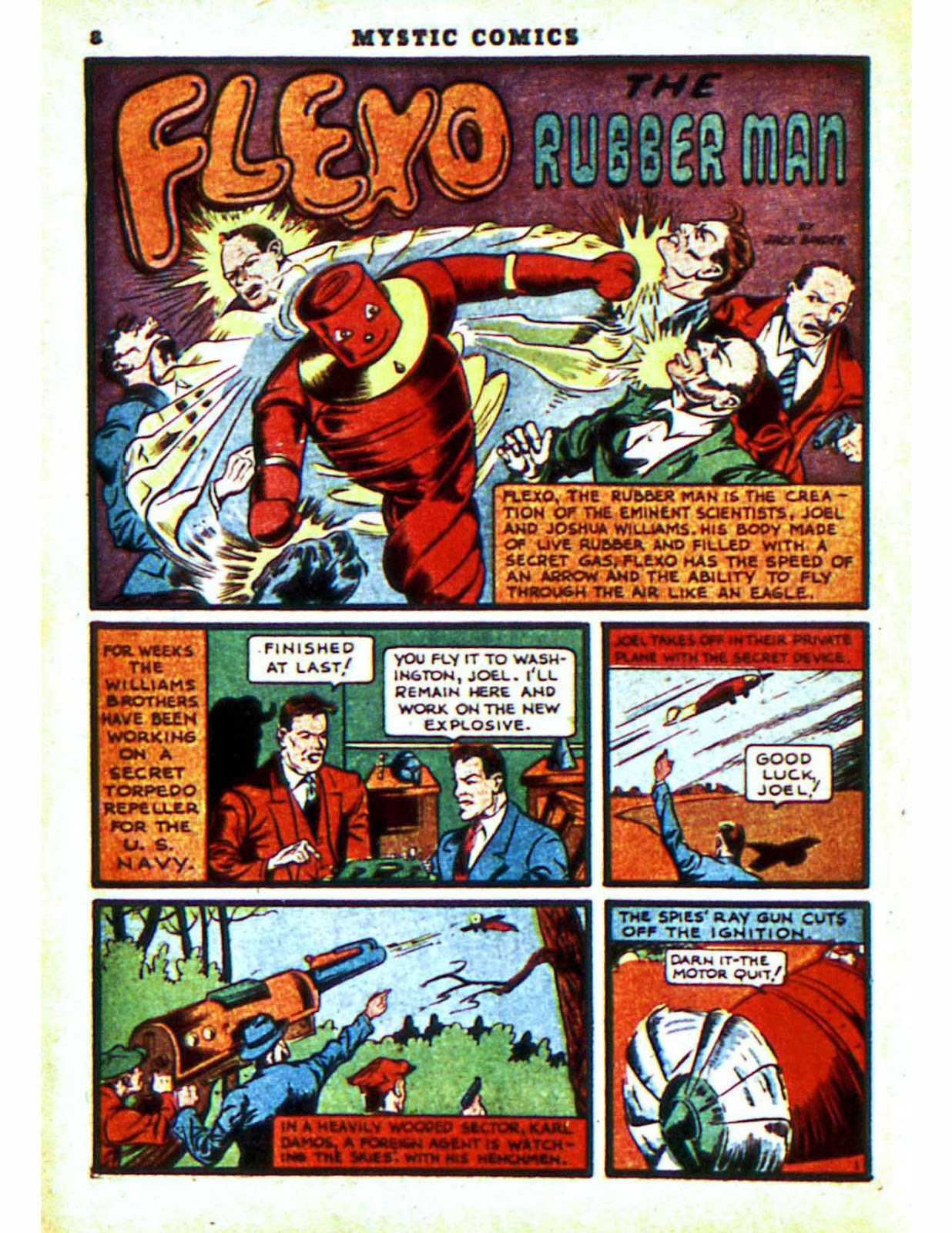 Mystic Comics (1940) issue 2 - Page 10