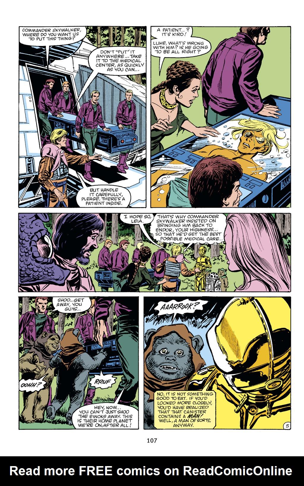 Read online Star Wars Omnibus comic -  Issue # Vol. 21 - 101