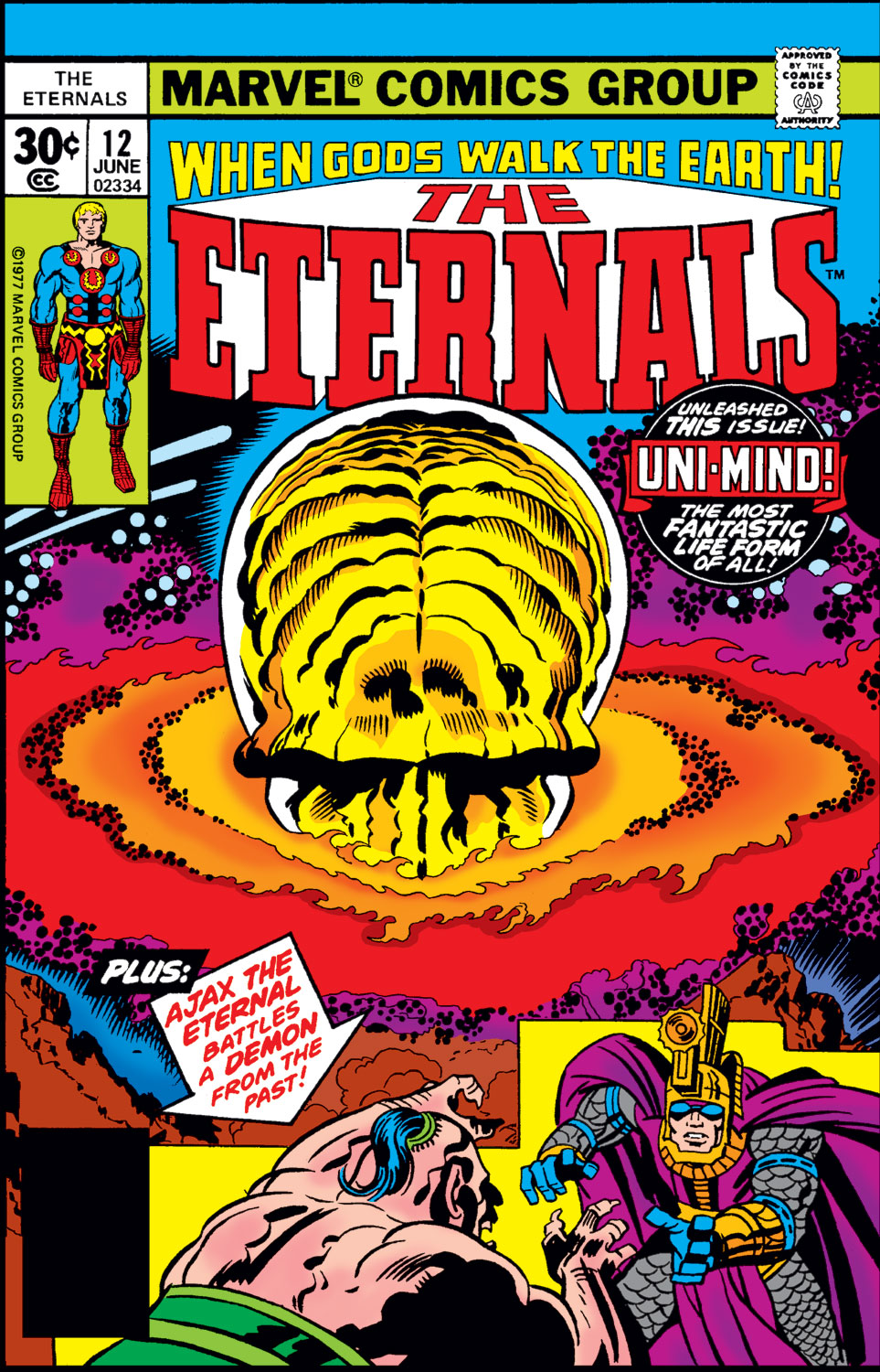 The Eternals issue 12 - Page 1
