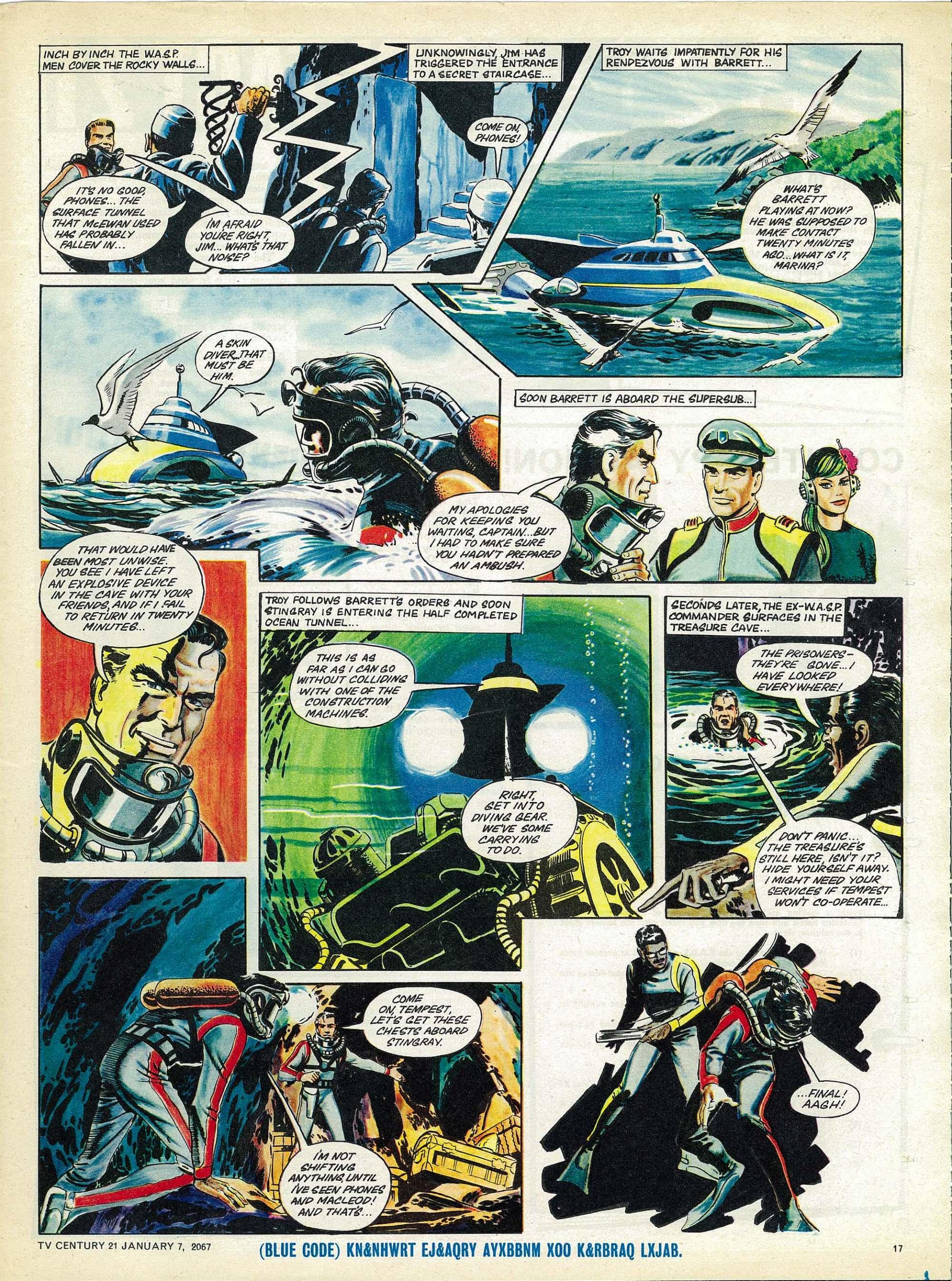 Read online TV Century 21 (TV 21) comic -  Issue #103 - 16
