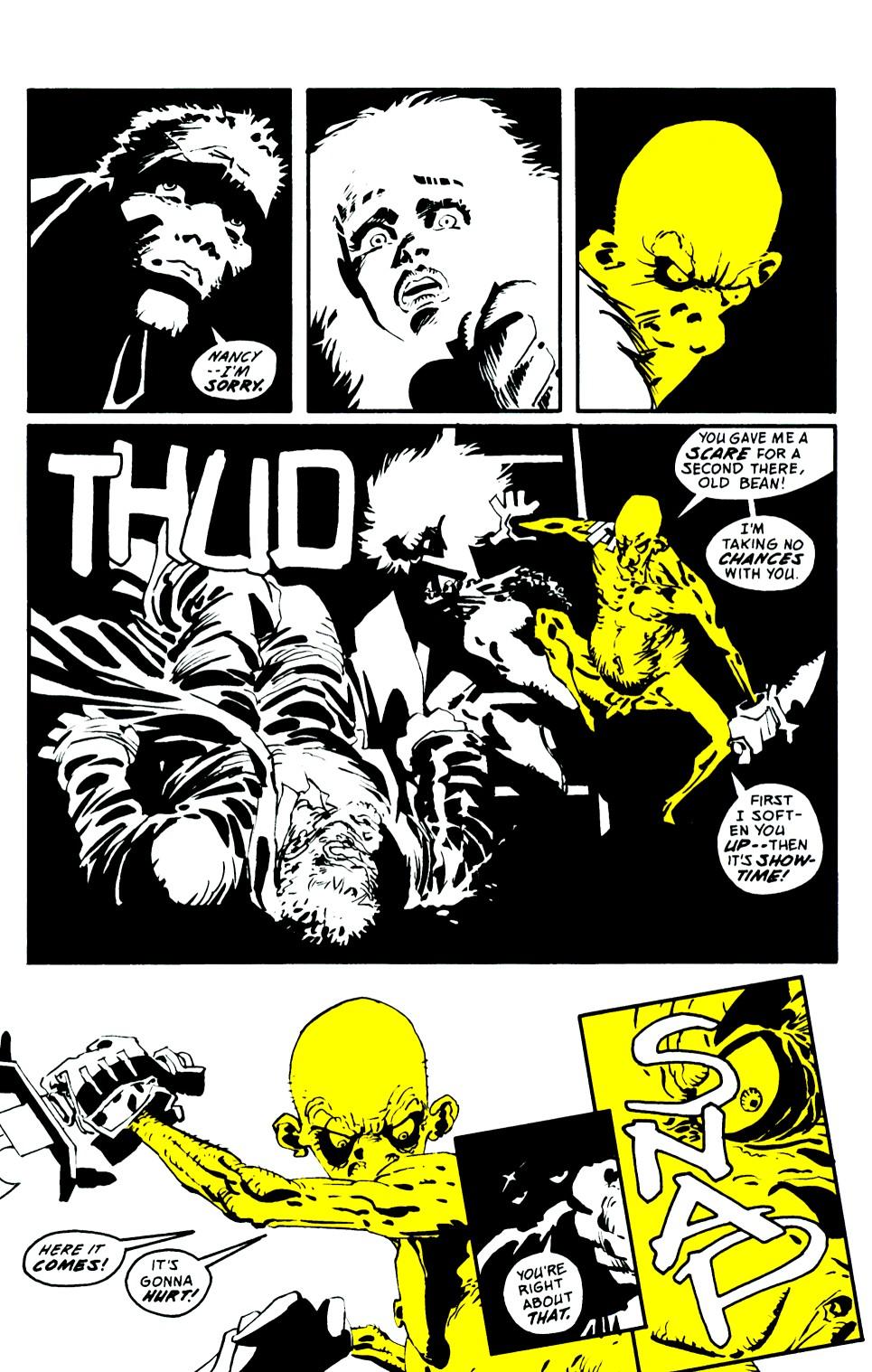 Read online Sin City: That Yellow Bastard comic -  Issue #6 - 35