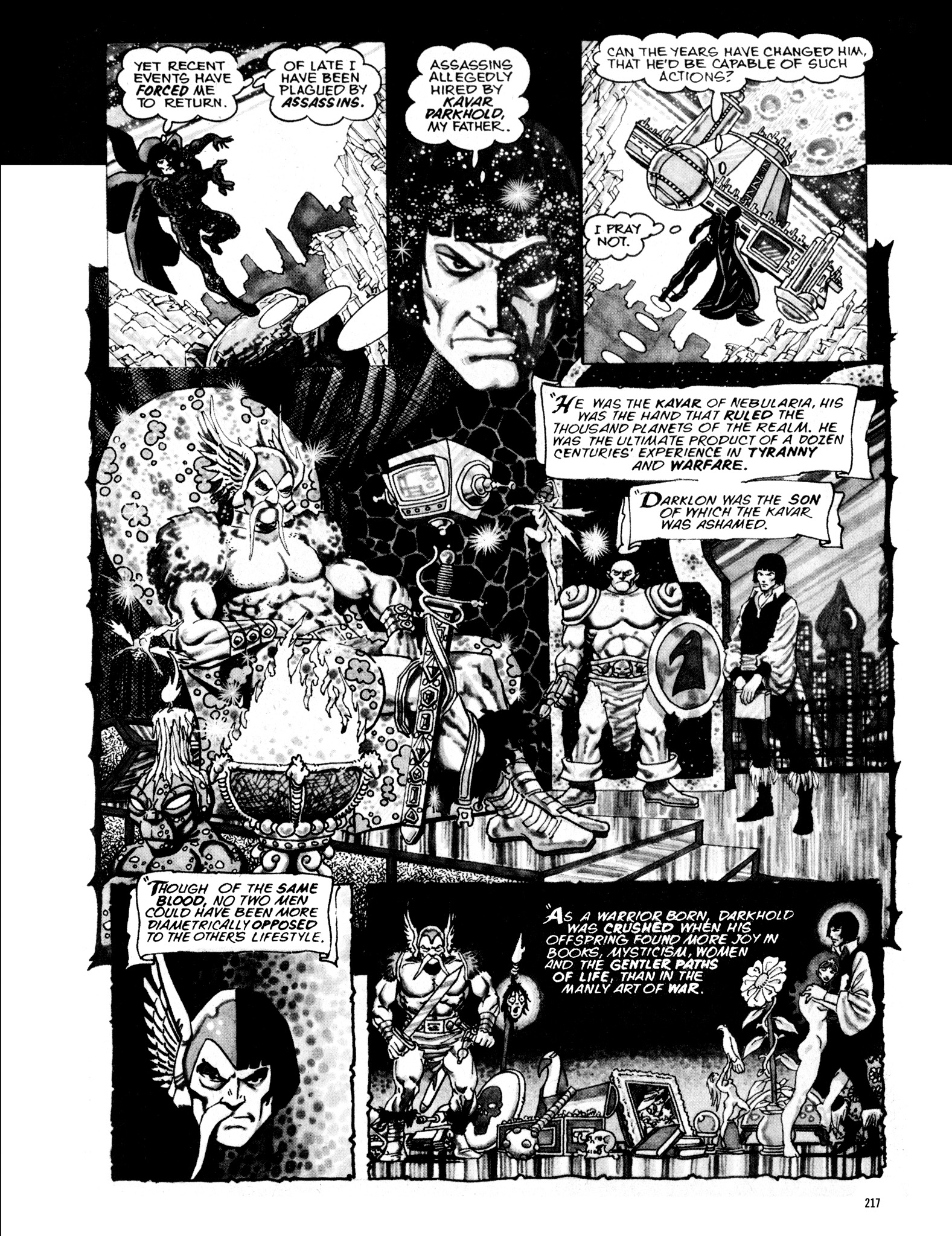Read online Eerie Archives comic -  Issue # TPB 16 - 218