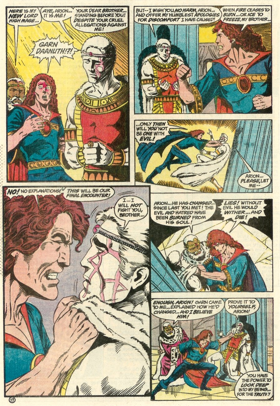 Read online Arion, Lord of Atlantis comic -  Issue #23 - 18
