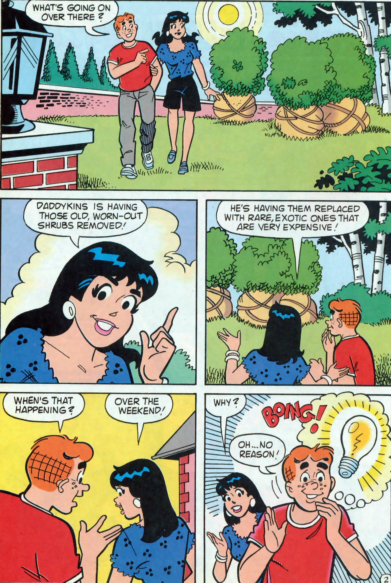 Read online Archie (1960) comic -  Issue #462 - 9