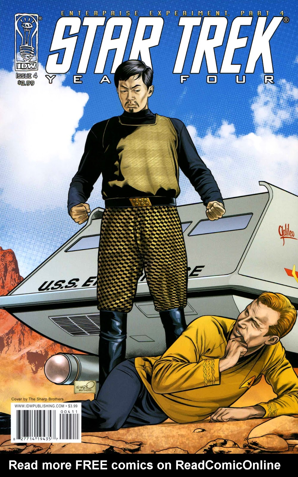Star Trek Year Four: The Enterprise Experiment issue 4 - Page 1