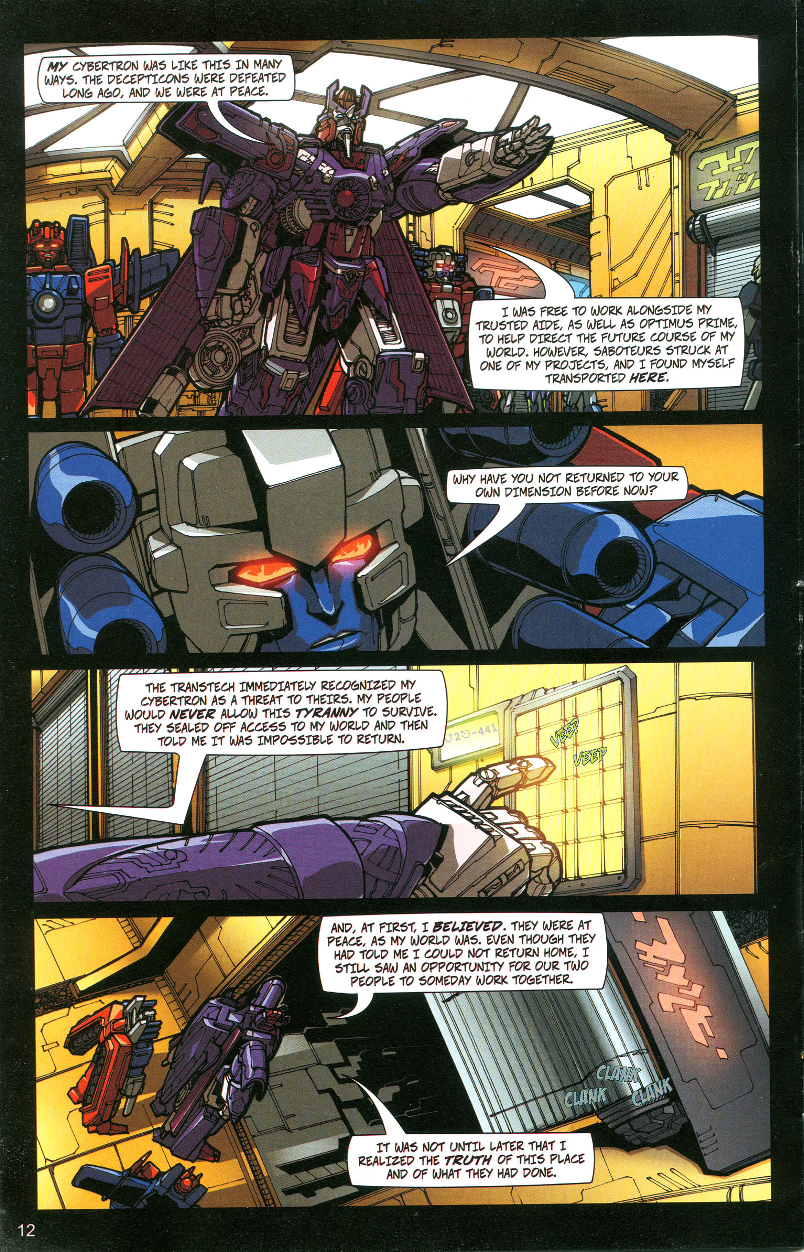 Read online Transformers: Collectors' Club comic -  Issue #20 - 12