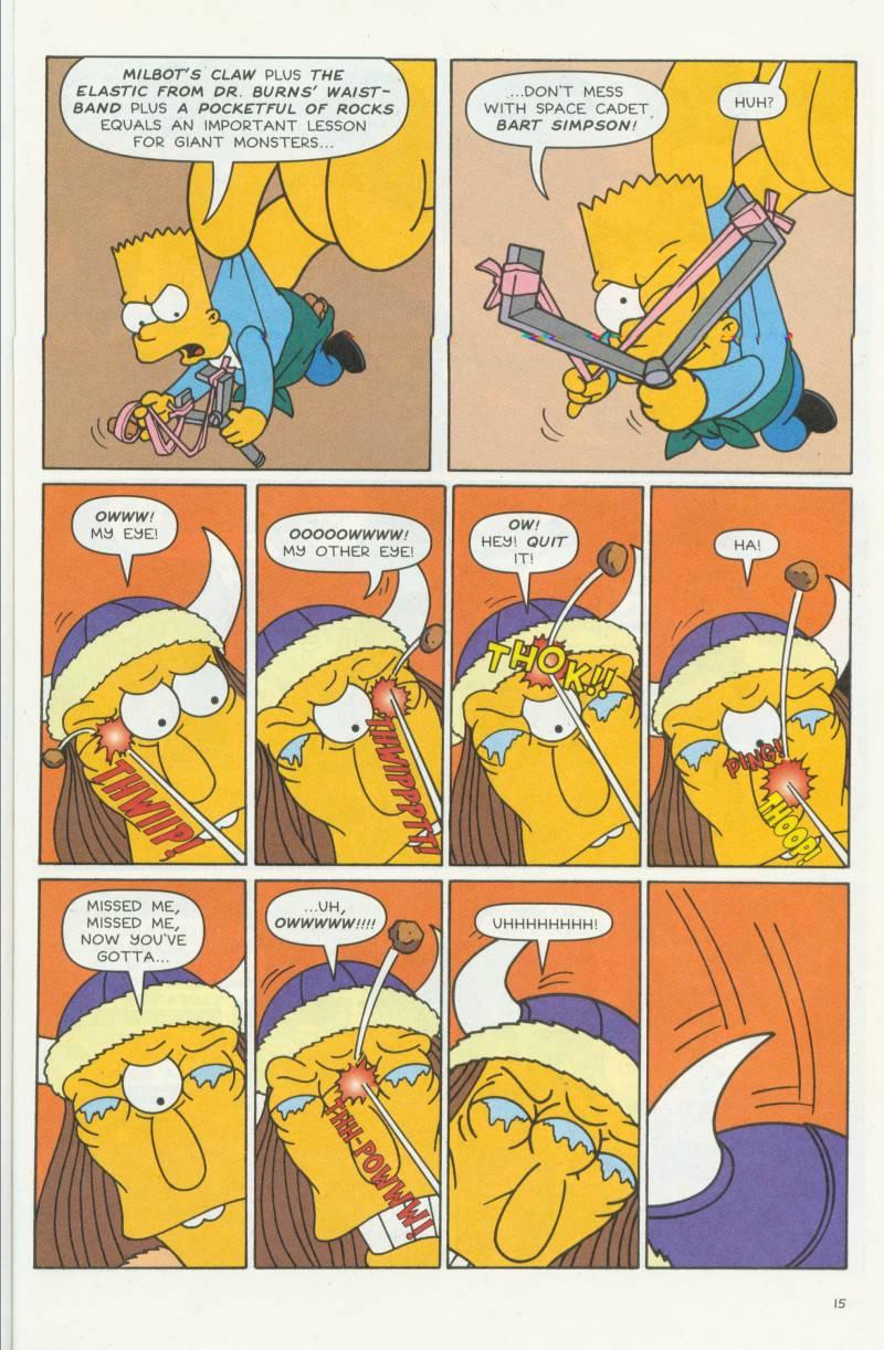 Read online Simpsons Comics Presents Bart Simpson comic -  Issue #3 - 17
