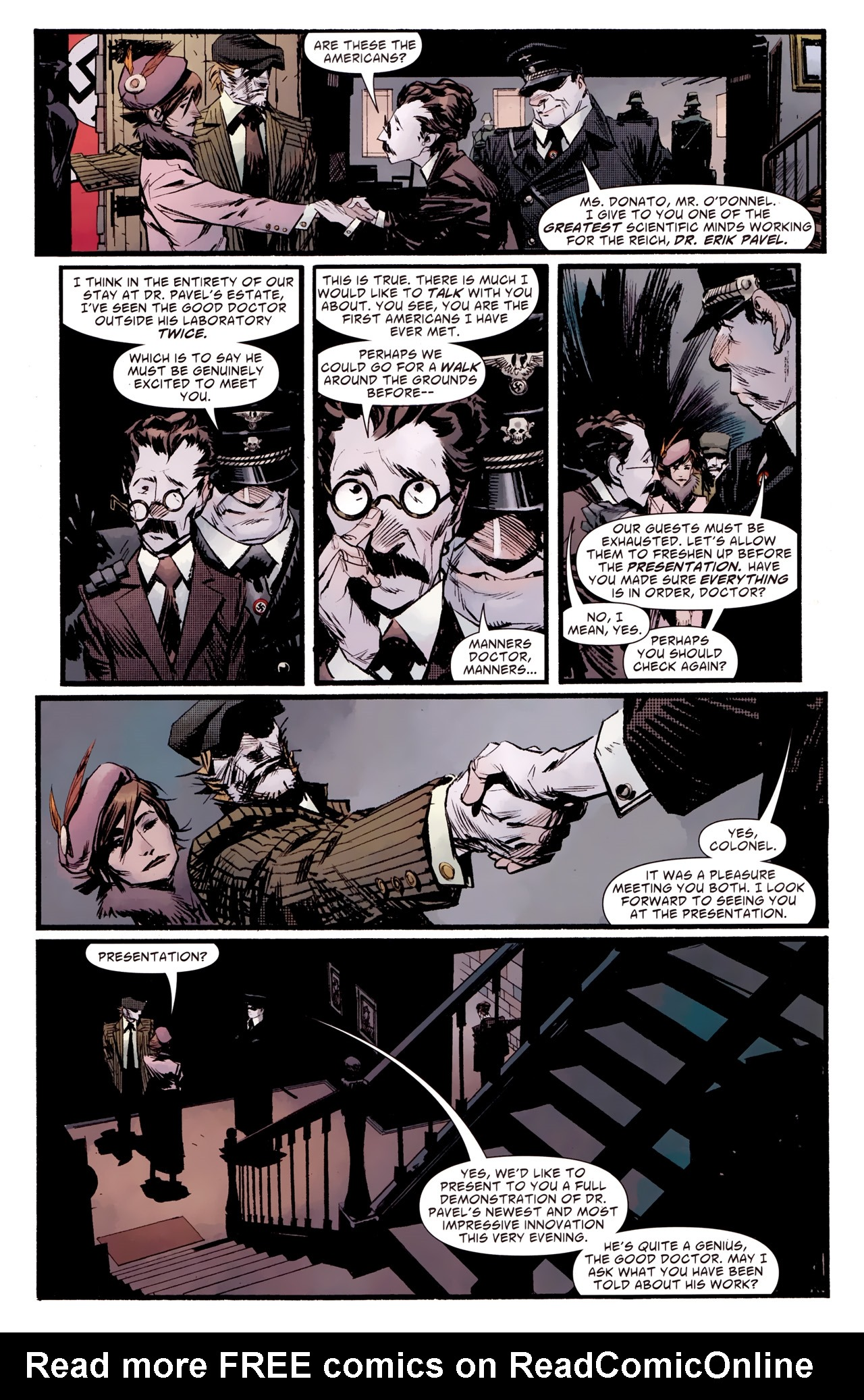 Read online American Vampire: Survival of the Fittest comic -  Issue #2 - 14