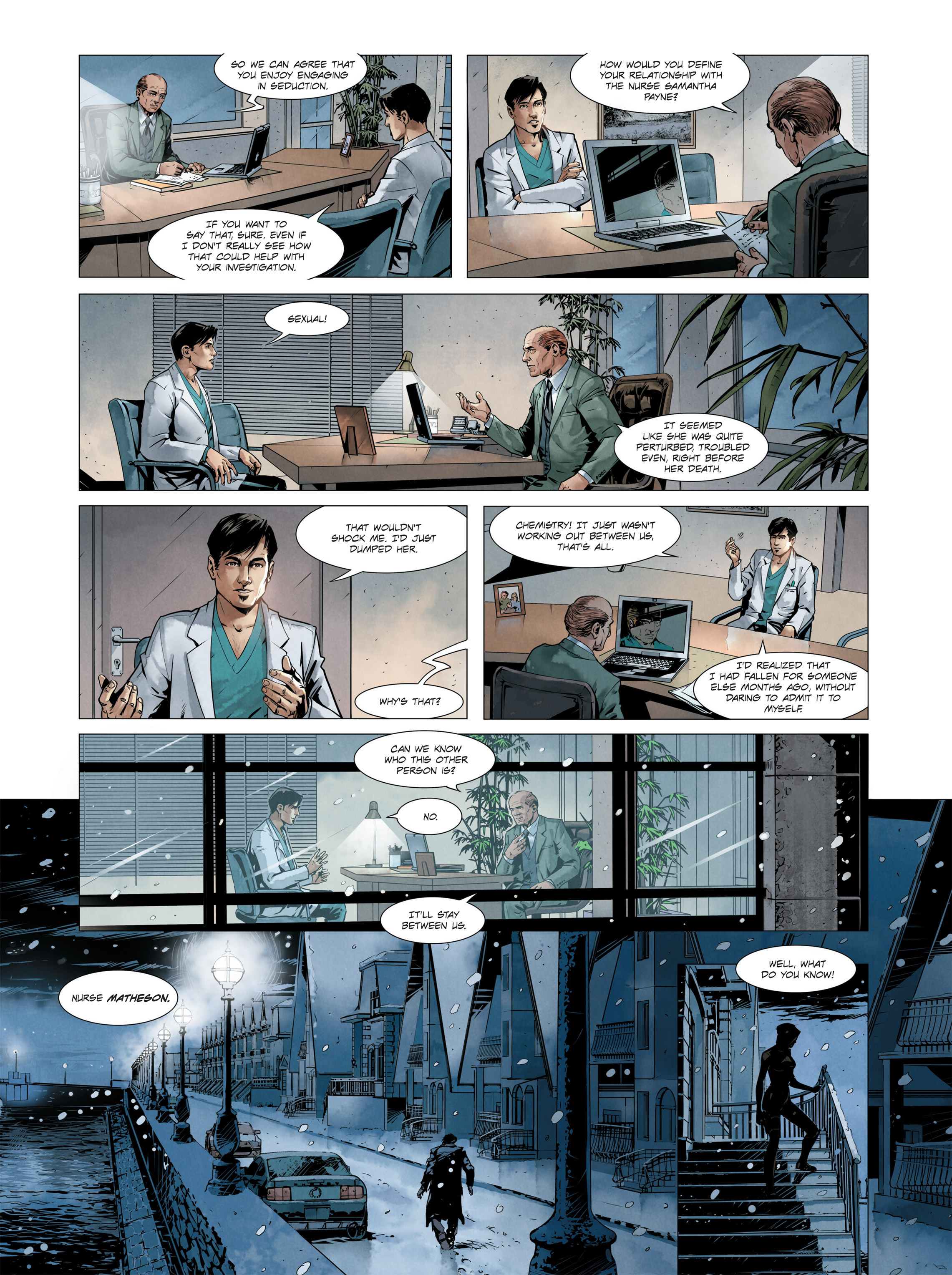 Read online Alice Matheson comic -  Issue #3 - 5