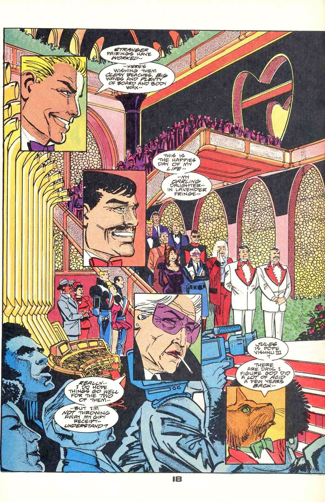 Howard Chaykin's American Flagg issue 12 - Page 24