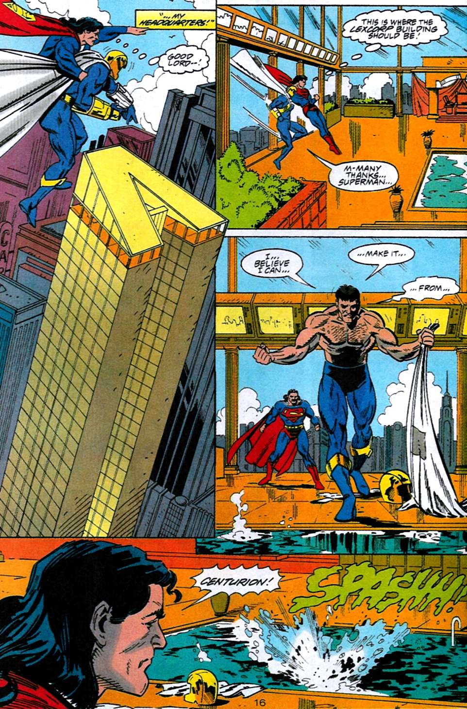 Read online Adventures of Superman (1987) comic -  Issue #516 - 15