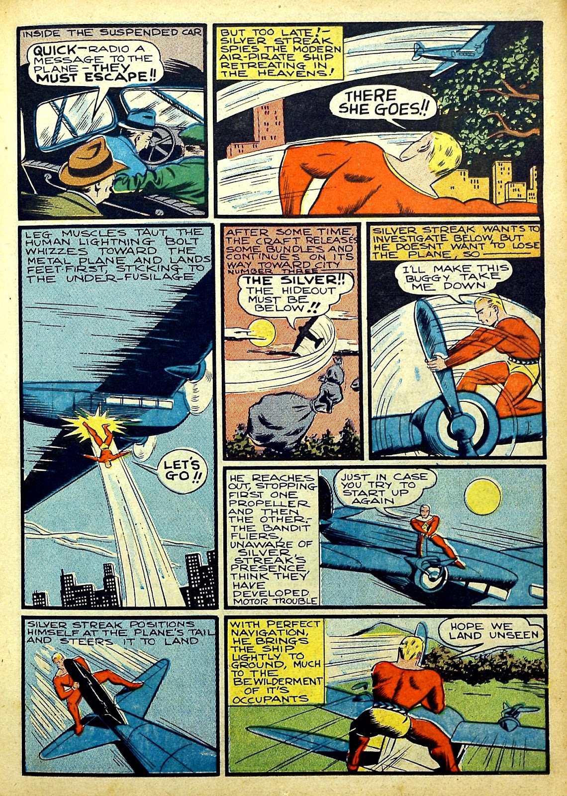 Read online Silver Streak Comics comic -  Issue #22 - 21