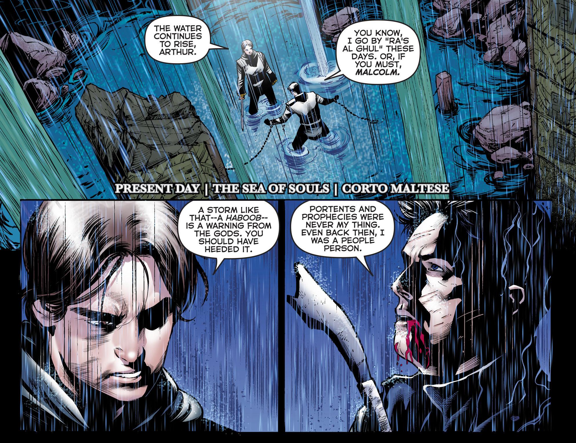 Read online Arrow: The Dark Archer comic -  Issue #5 - 3
