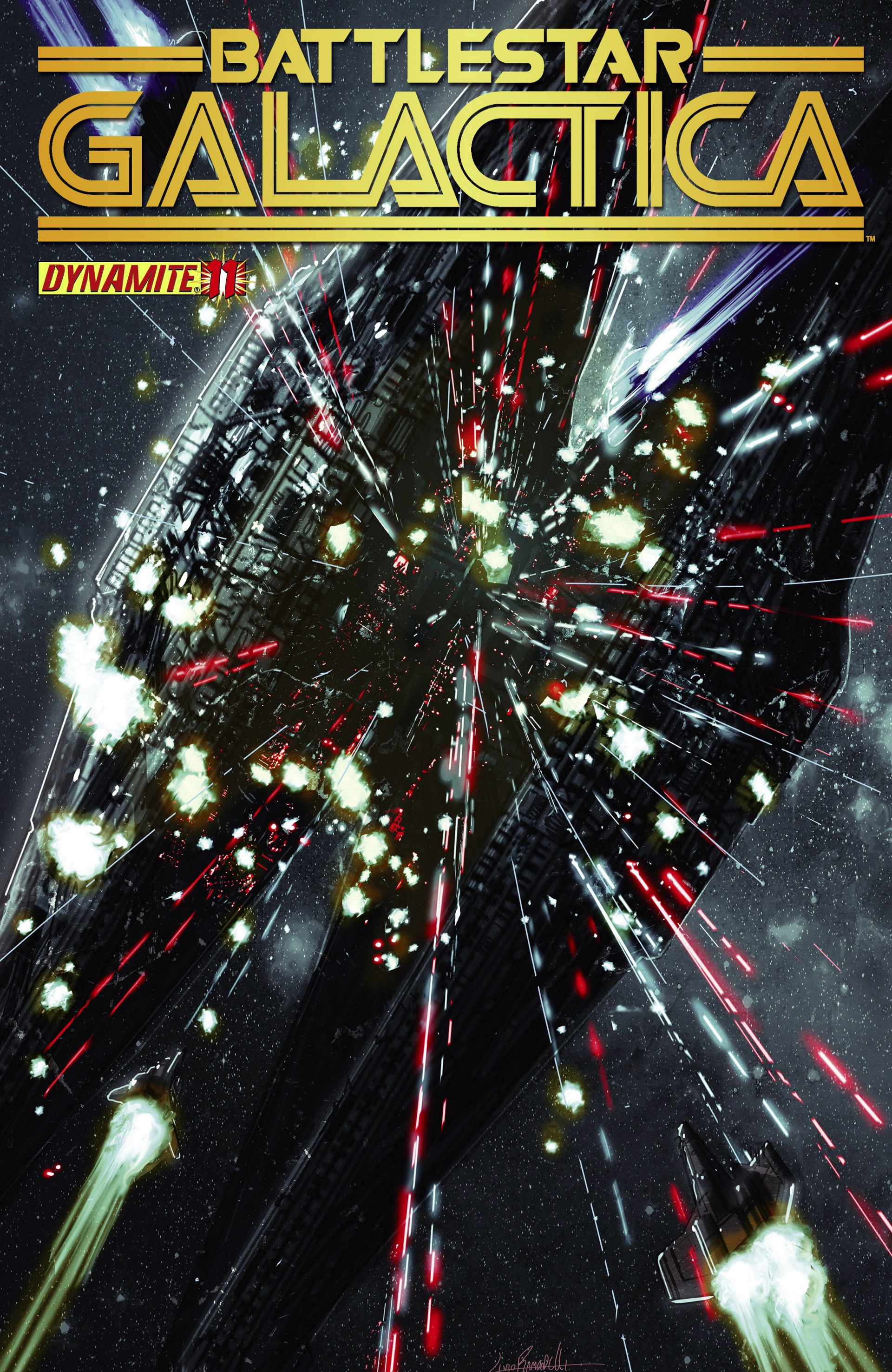Classic Battlestar Galactica (2013) 11 Page 1
