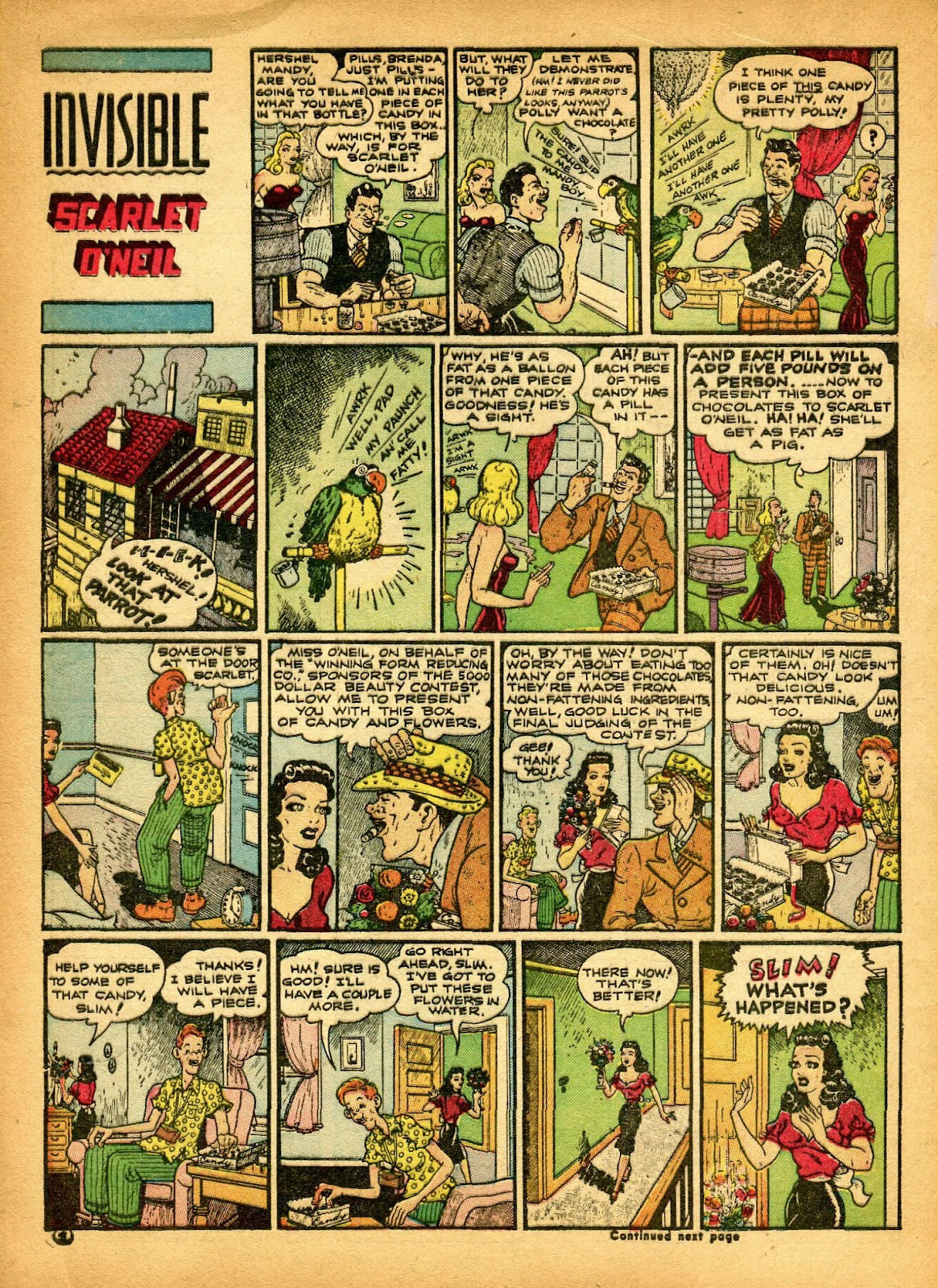 Read online Famous Funnies comic -  Issue #84 - 6