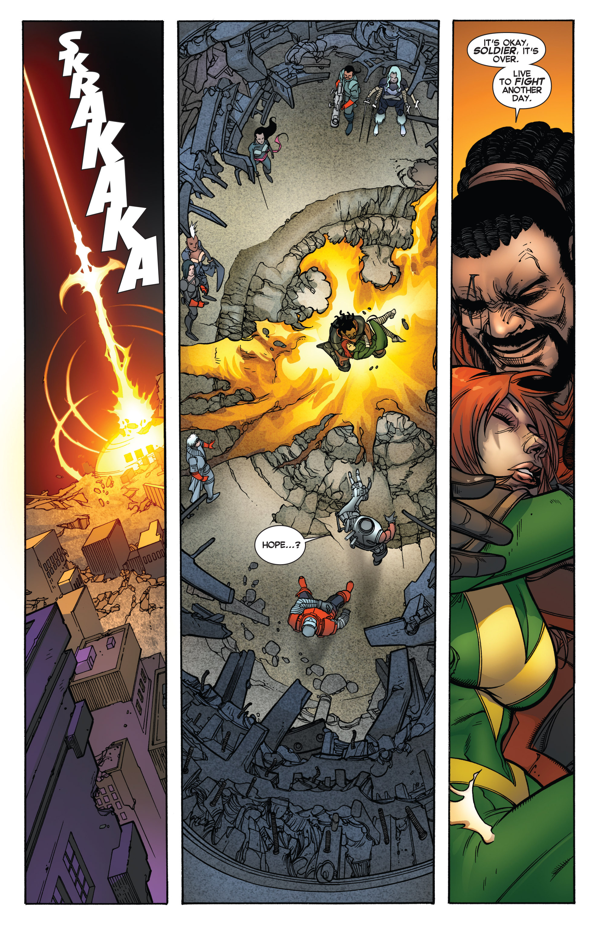 Read online Uncanny X-Force (2013) comic -  Issue #17 - 19