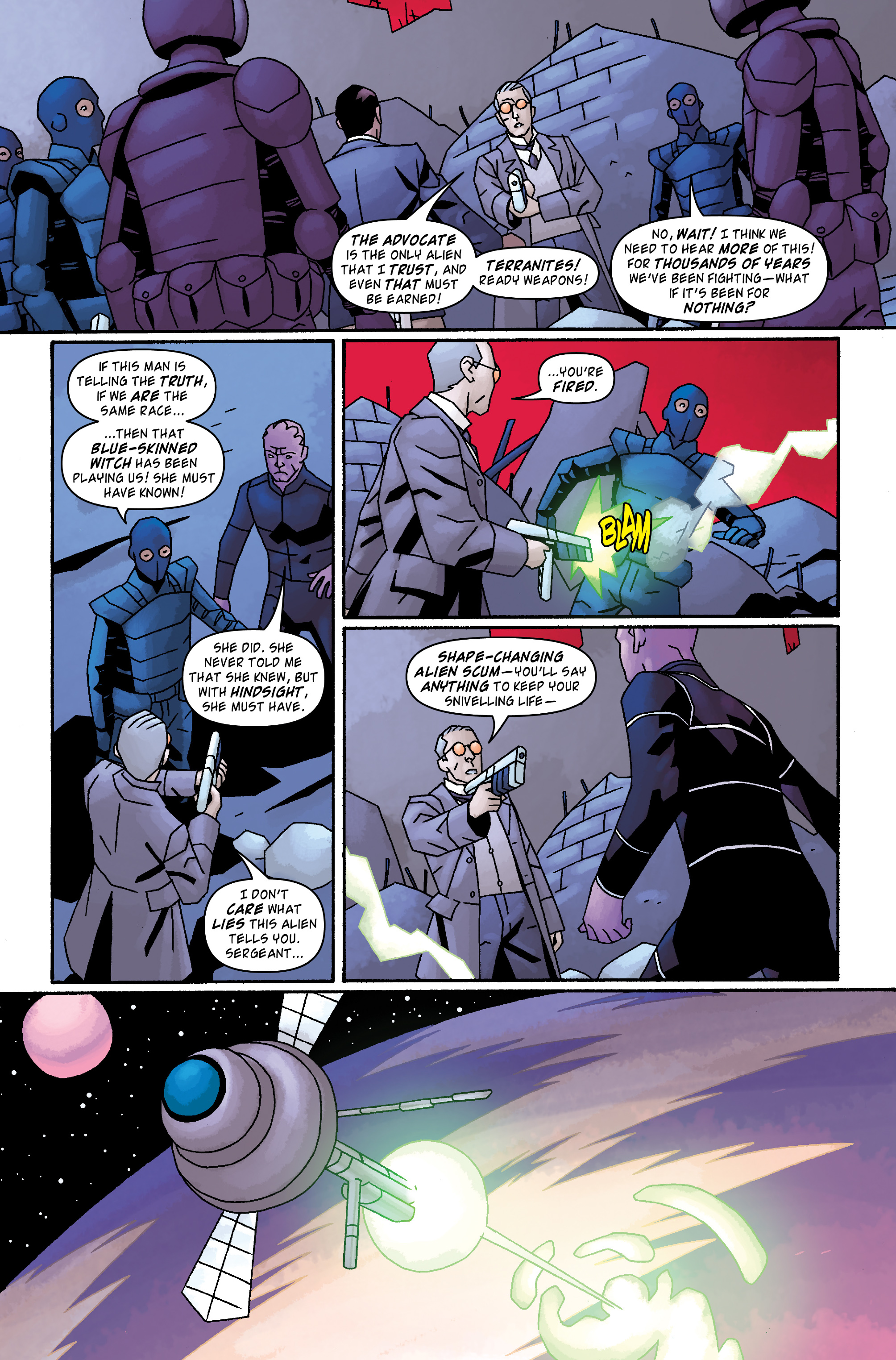 Read online Doctor Who: The Tenth Doctor Archives comic -  Issue #33 - 16
