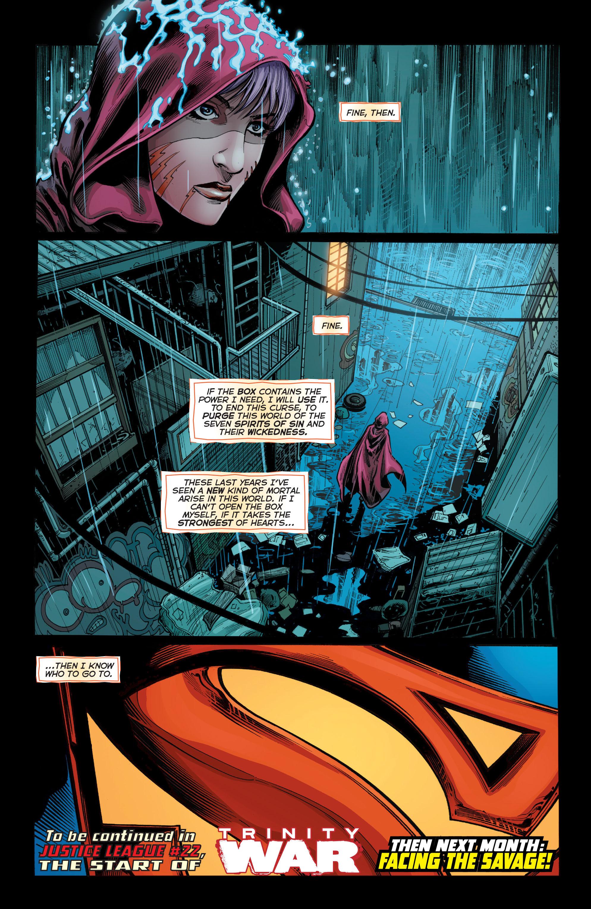 Read online Trinity of Sin: Pandora comic -  Issue #1 - 20