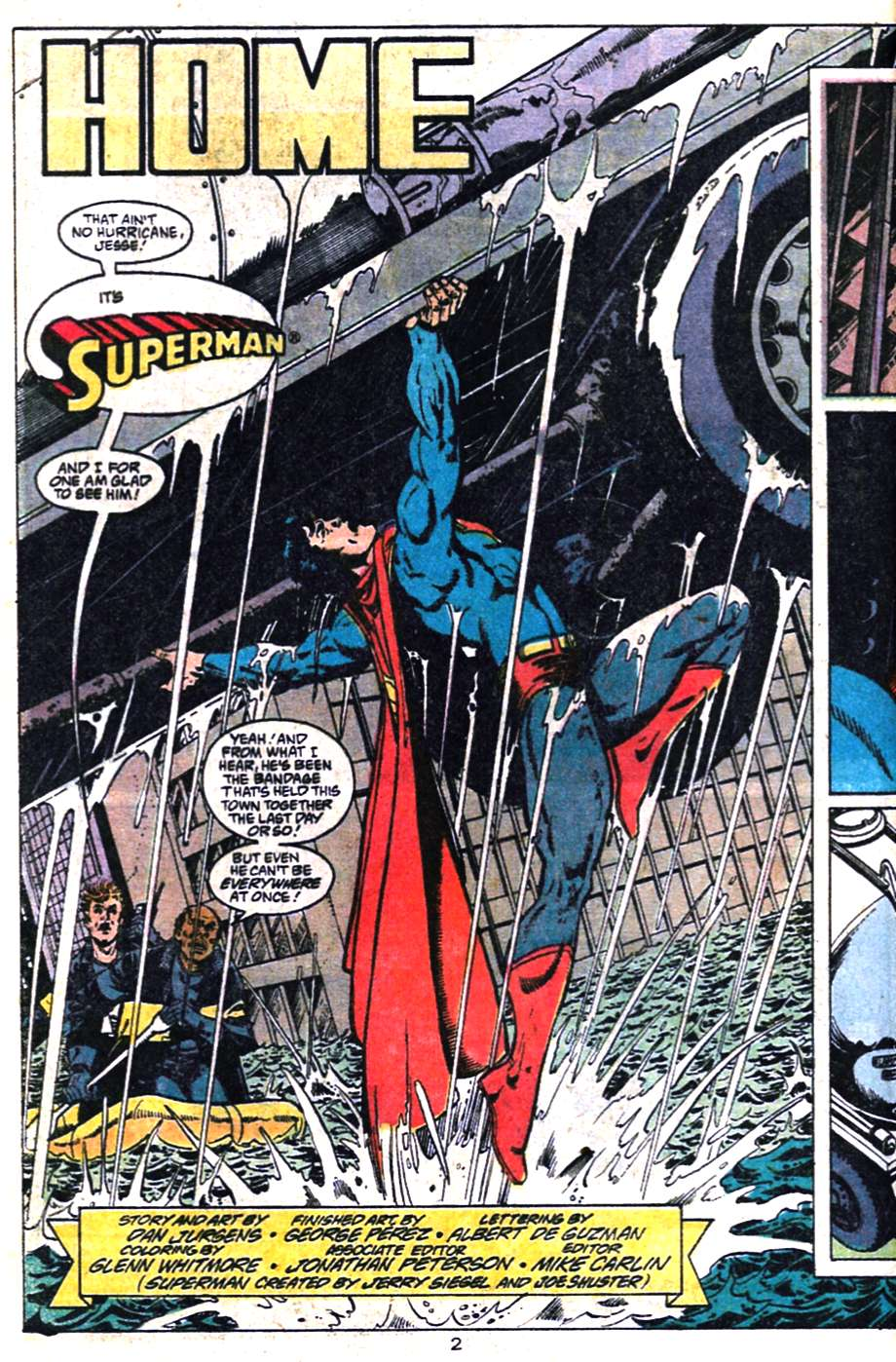 Read online Adventures of Superman (1987) comic -  Issue #461 - 3