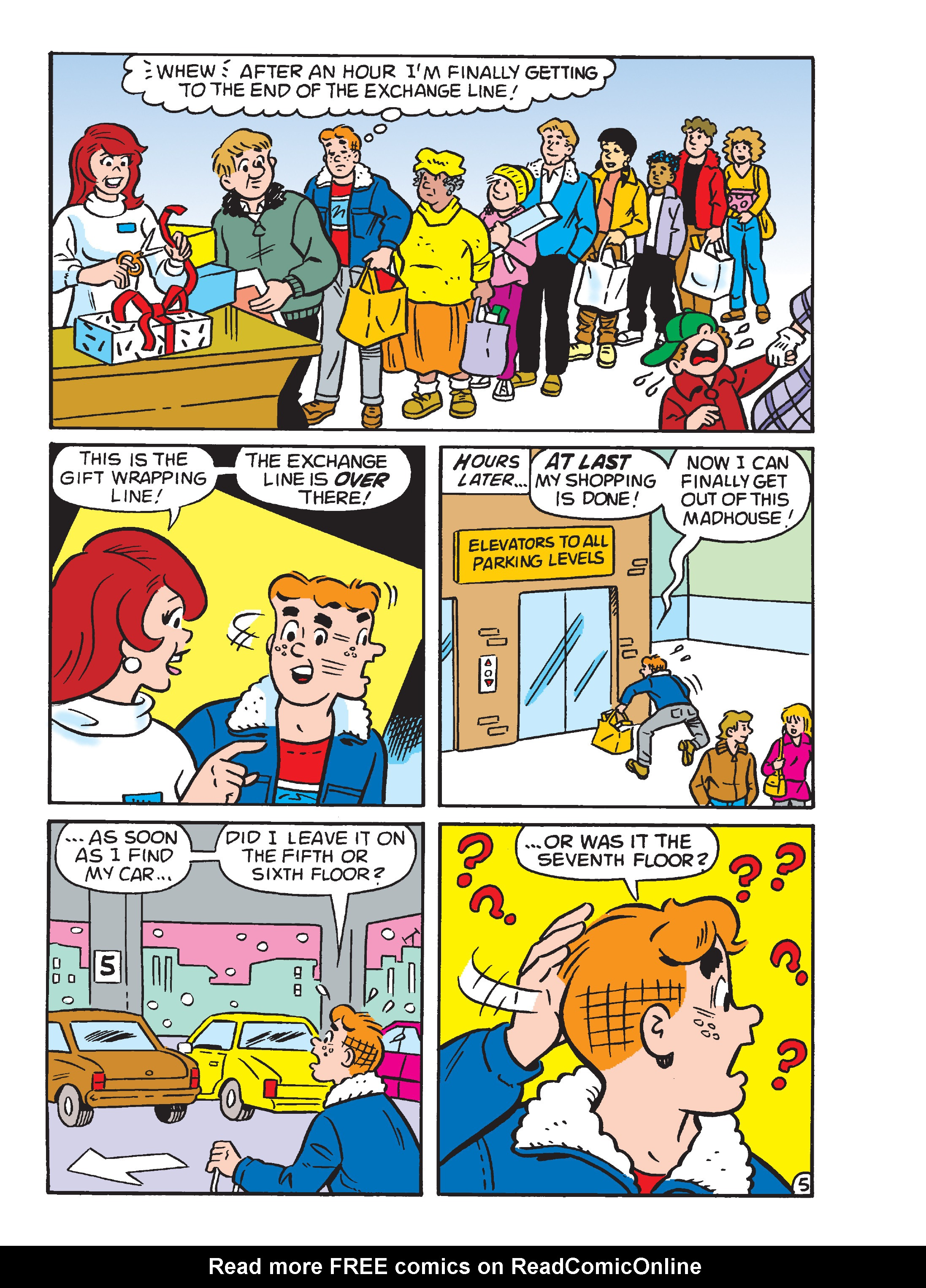 Read online Archie's Funhouse Double Digest comic -  Issue #23 - 11