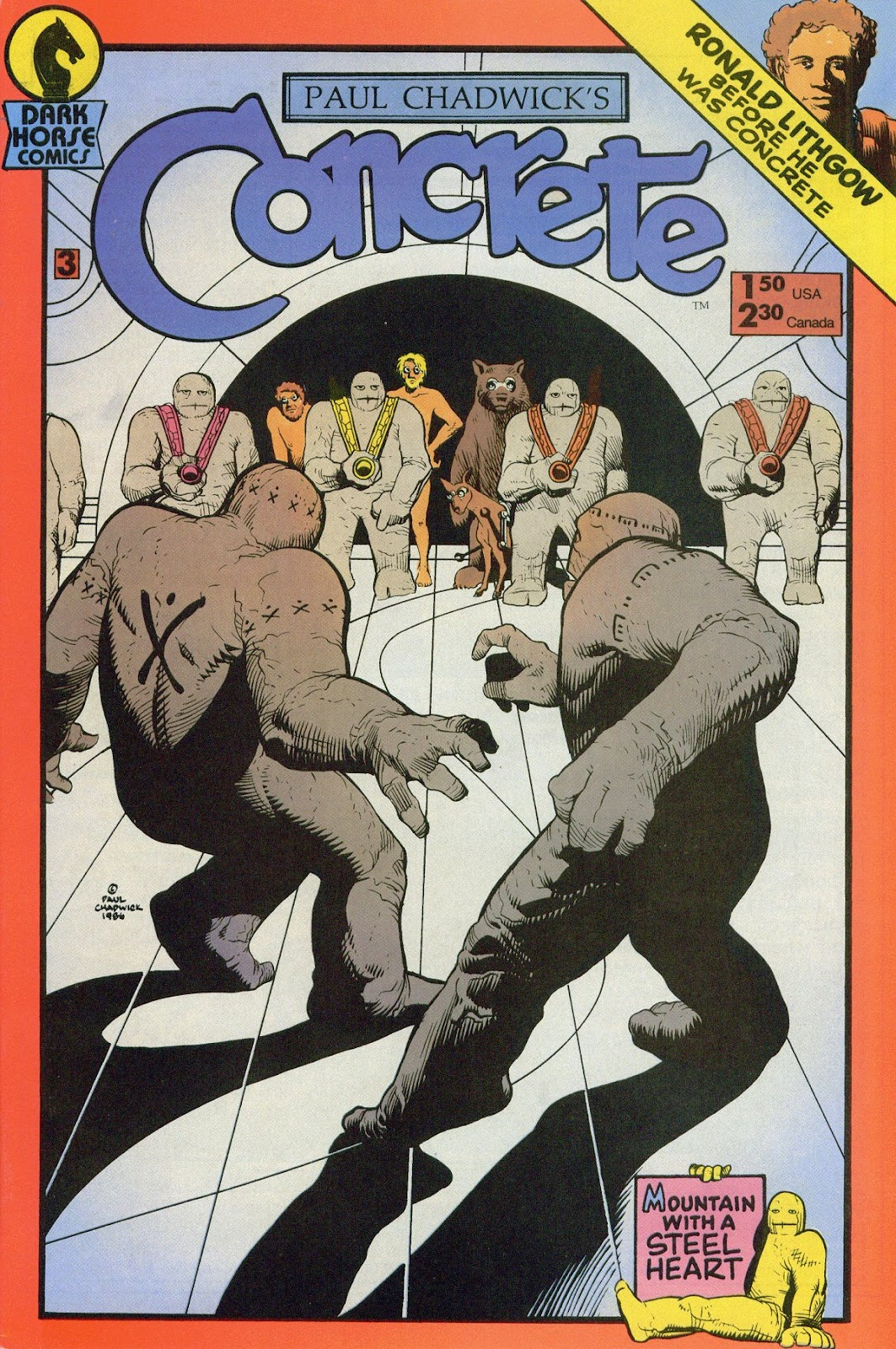 Concrete (1987) issue 3 - Page 1