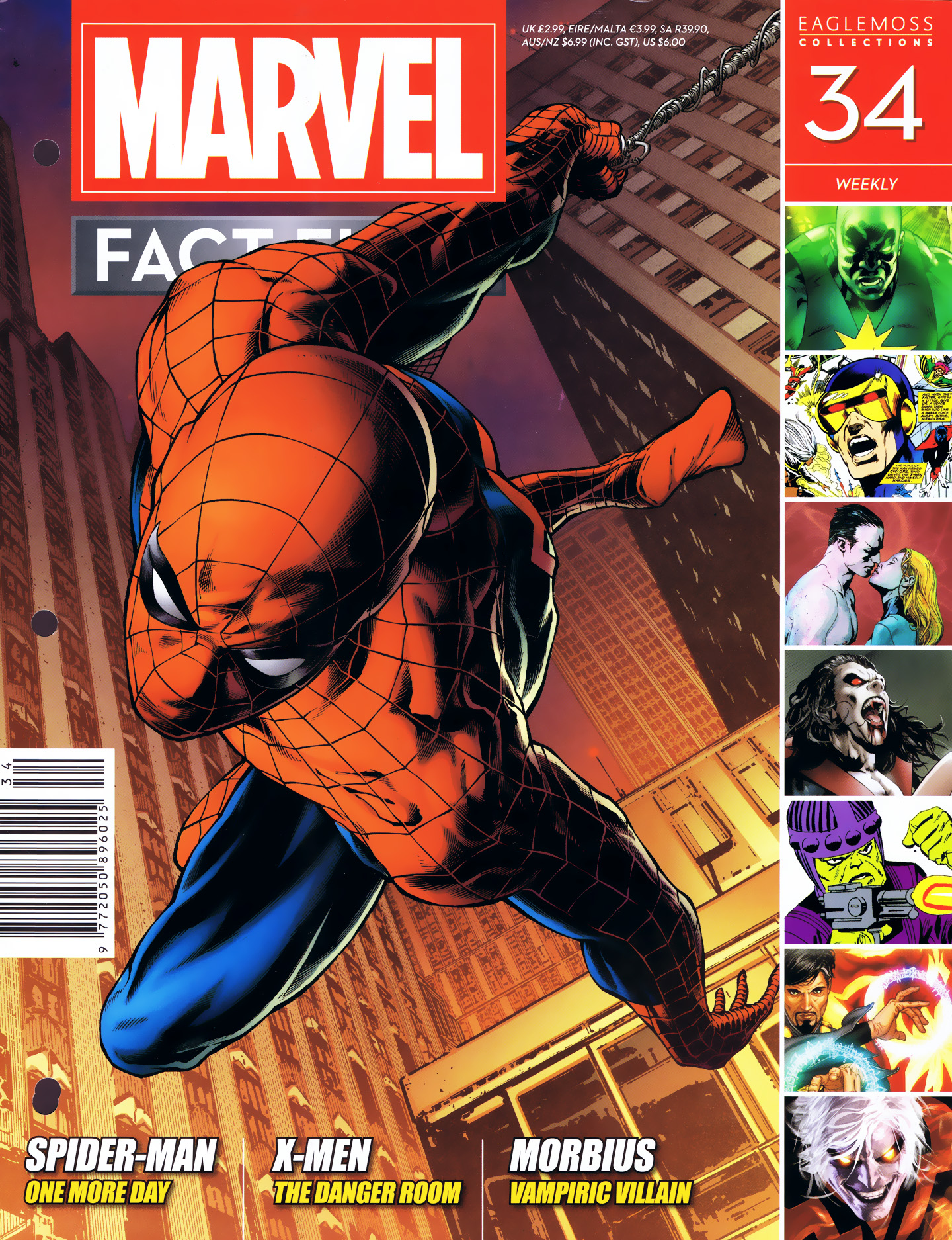 Marvel Fact Files 34 Page 1