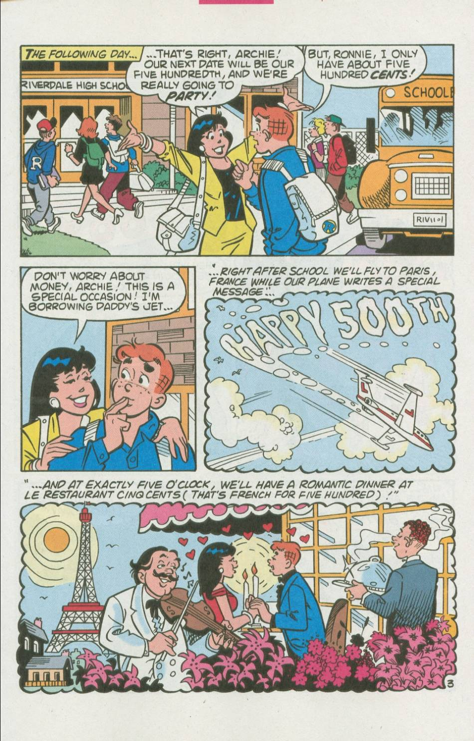 Read online Archie (1960) comic -  Issue #500 - 10