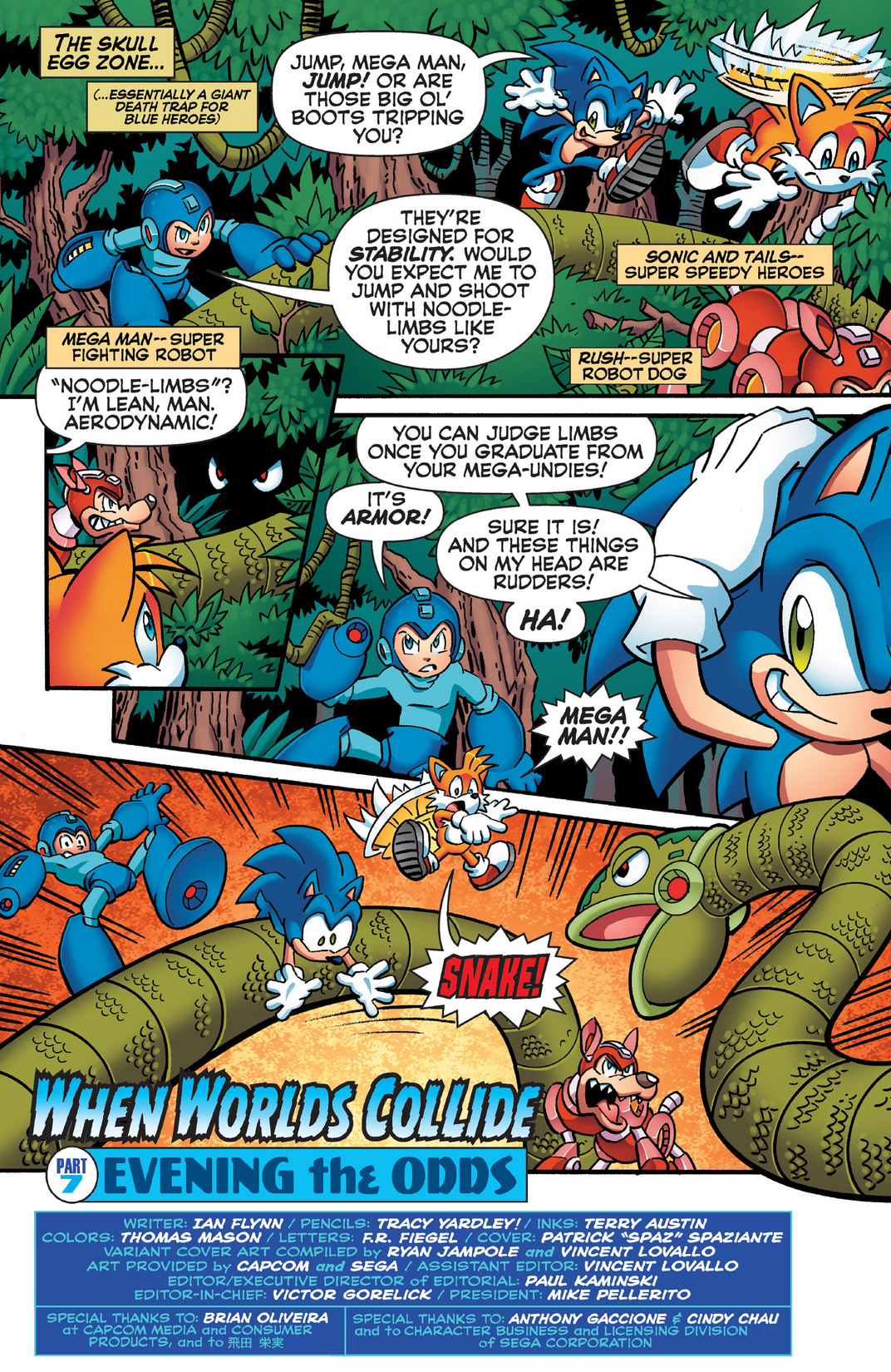 Read online Sonic Mega Man Worlds Collide comic -  Issue # Vol 2 - 60