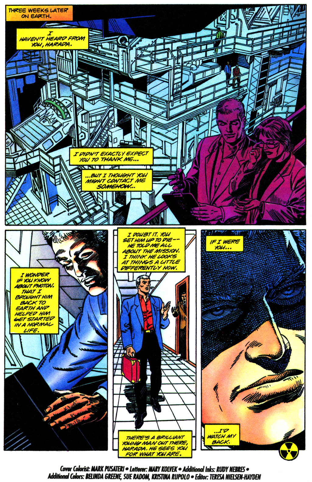 Read online Solar, Man of the Atom comic -  Issue #41 - 22