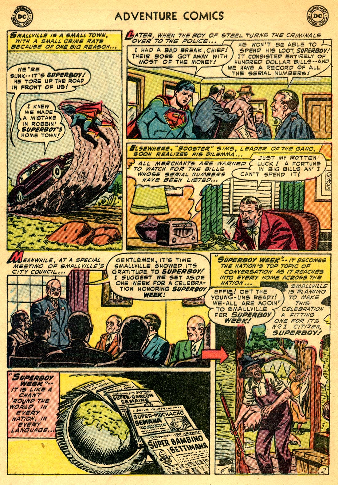 Read online Adventure Comics (1938) comic -  Issue #209 - 4