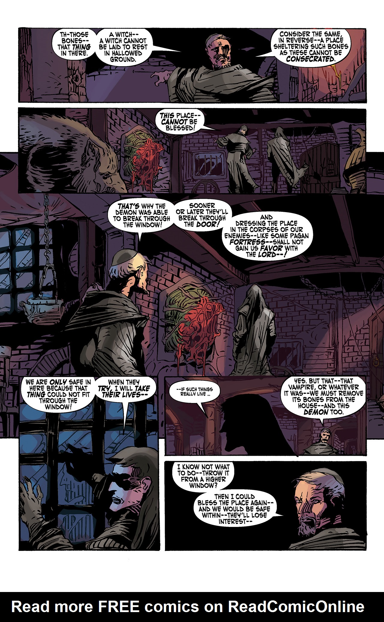 Read online Solomon Kane: Death's Black Riders comic -  Issue #3 - 18