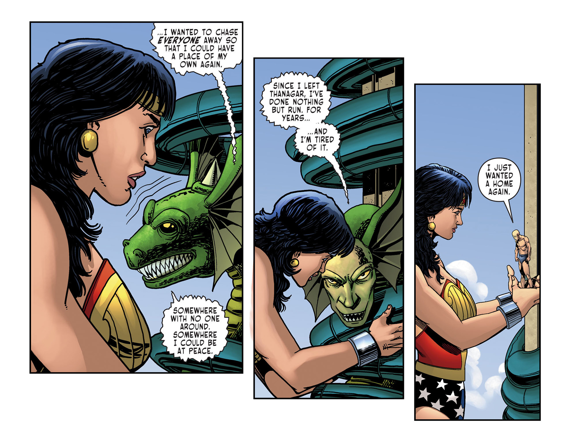 Read online Sensation Comics Featuring Wonder Woman comic -  Issue #10 - 19