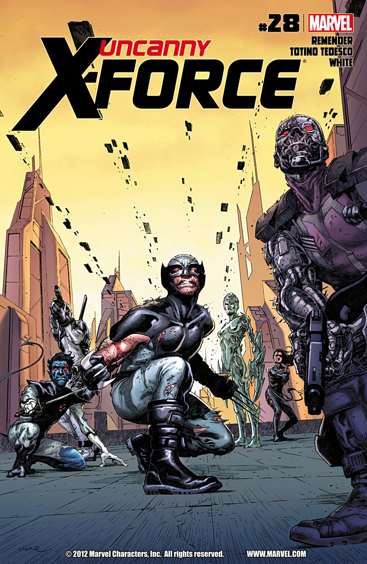Uncanny X-Force (2010) #28 #30 - English 1