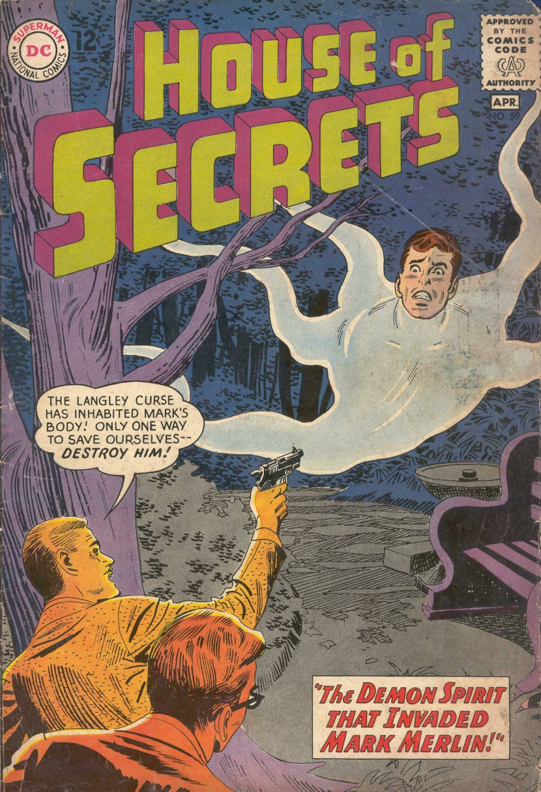 House of Secrets (1956) issue 59 - Page 1