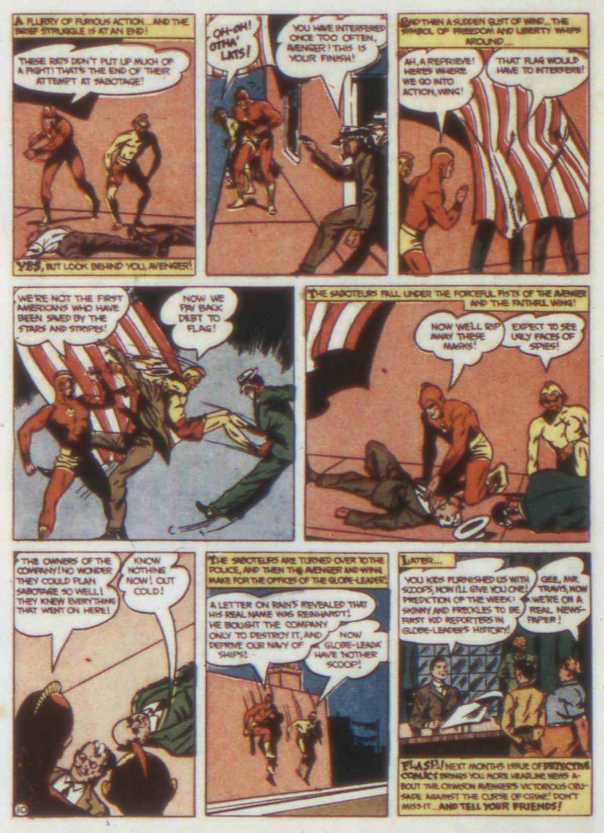 Read online Detective Comics (1937) comic -  Issue #74 - 40