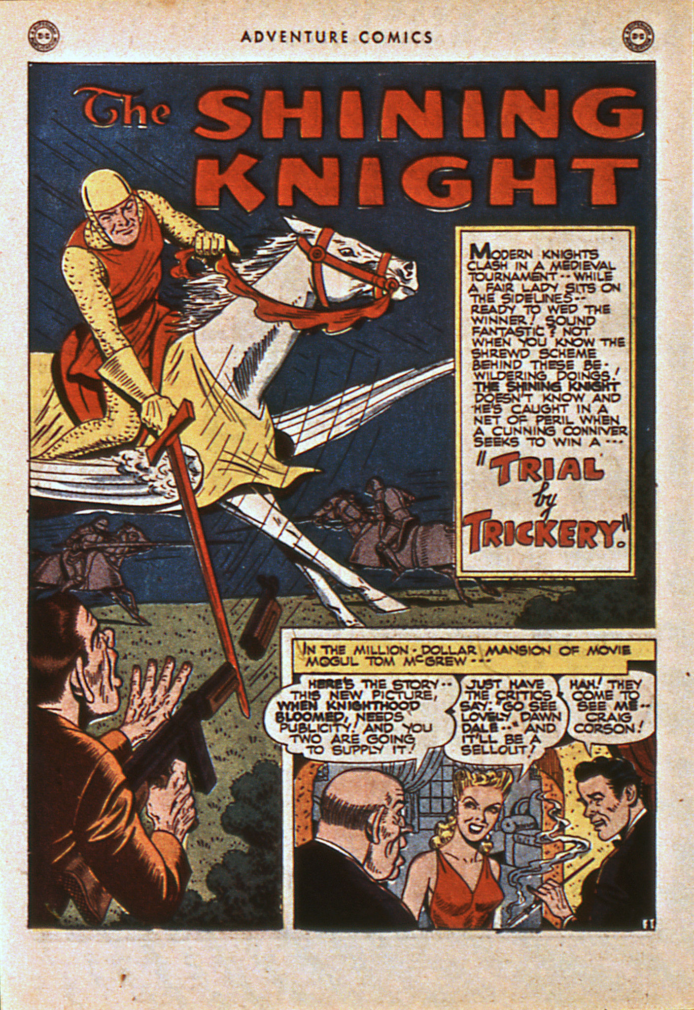Read online Adventure Comics (1938) comic -  Issue #108 - 33