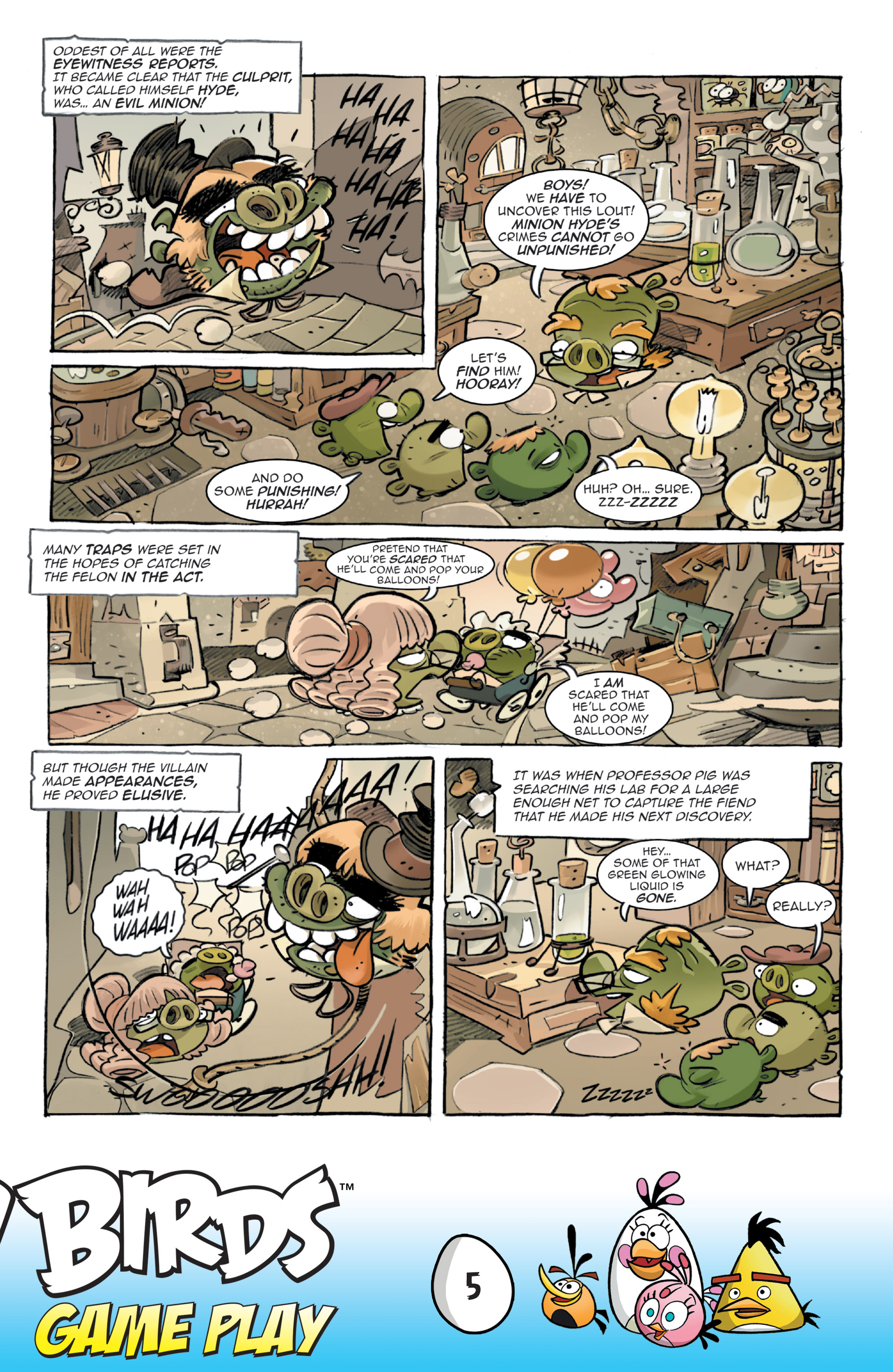Read online Angry Birds Comics: Game Play comic -  Issue #3 - 7