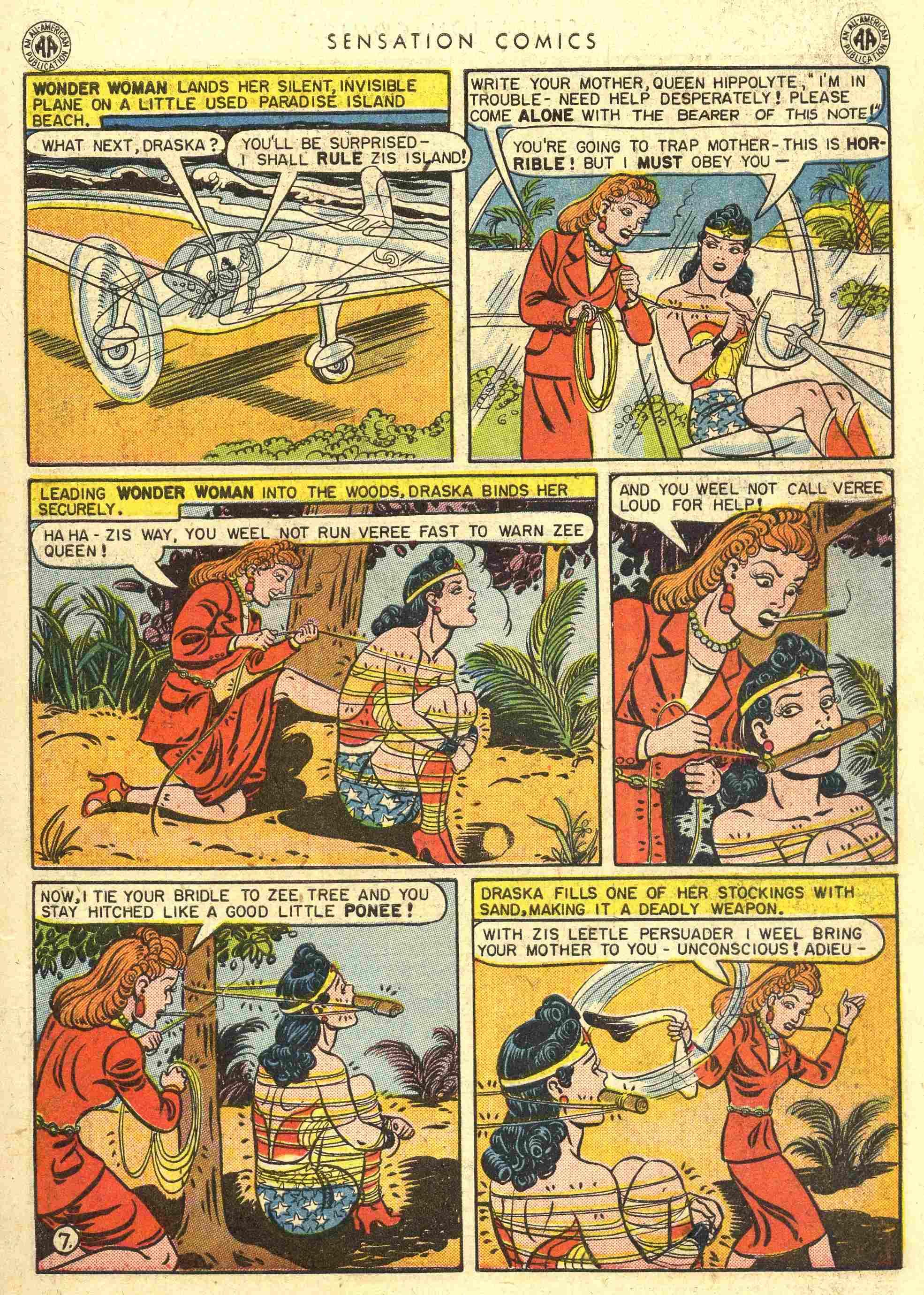 Read online Sensation (Mystery) Comics comic -  Issue #42 - 9