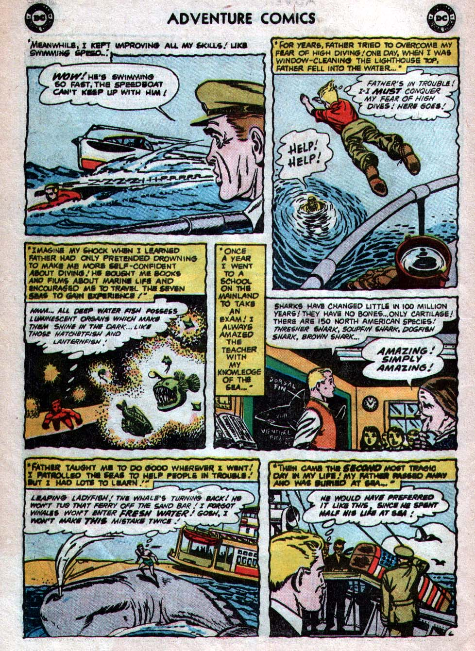 Read online Adventure Comics (1938) comic -  Issue #260 - 22