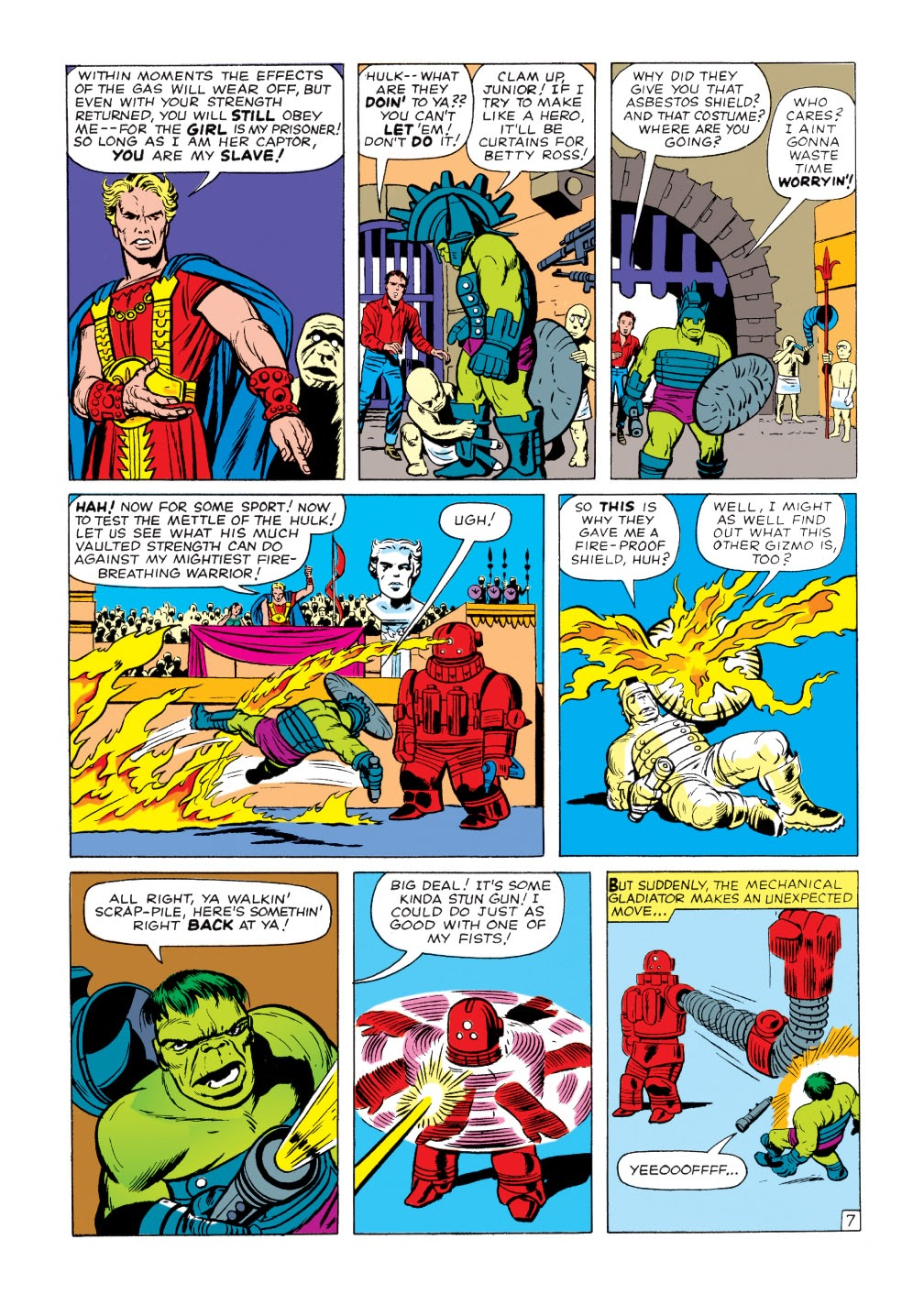 Read online Marvel Masterworks: The Incredible Hulk comic -  Issue # TPB 1 (Part 2) - 11