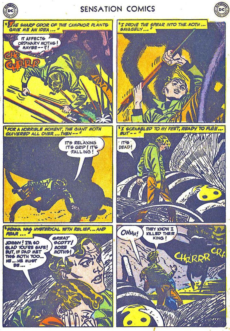 Read online Sensation (Mystery) Comics comic -  Issue #108 - 17