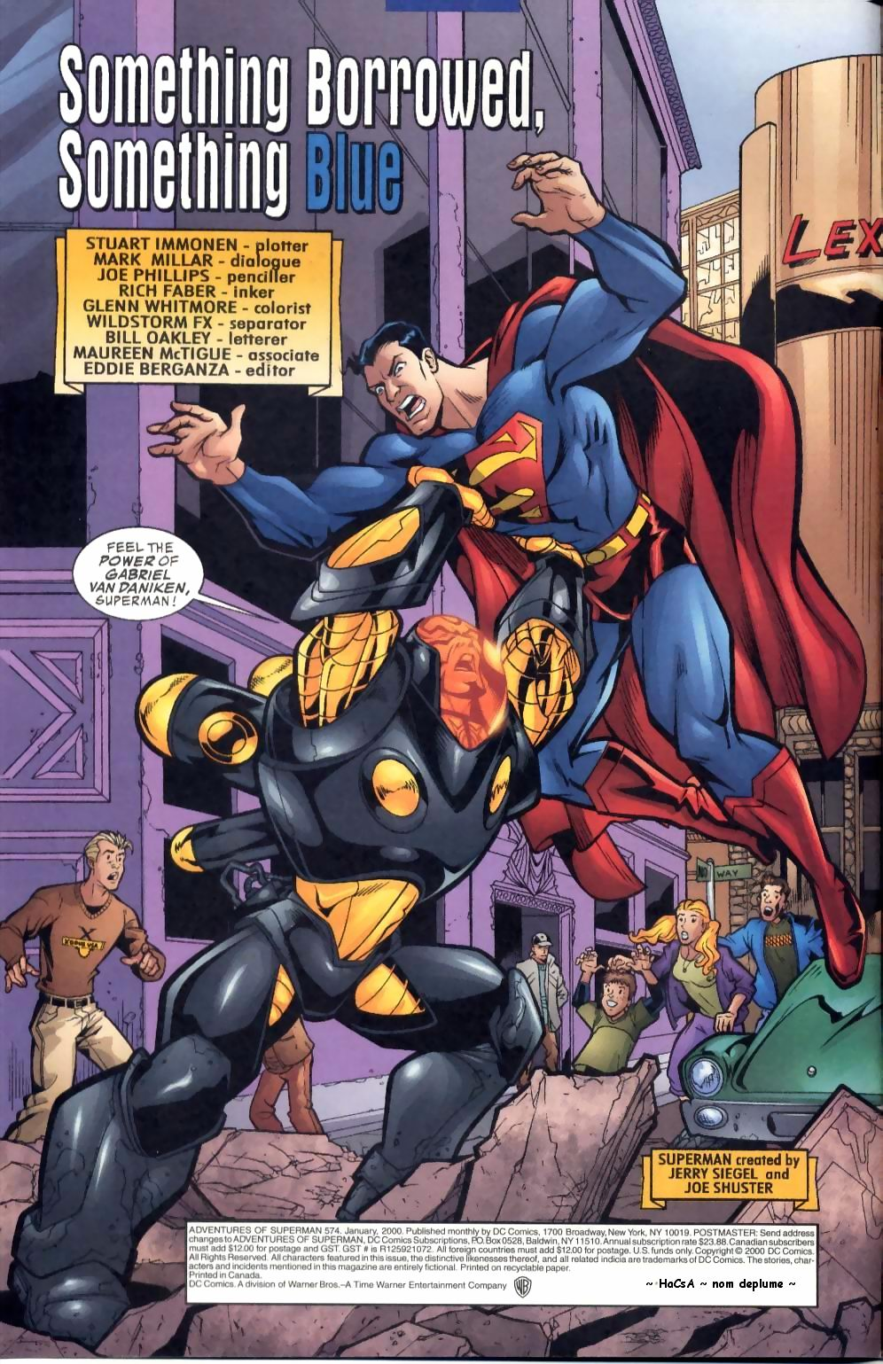 Read online Adventures of Superman (1987) comic -  Issue #574 - 3