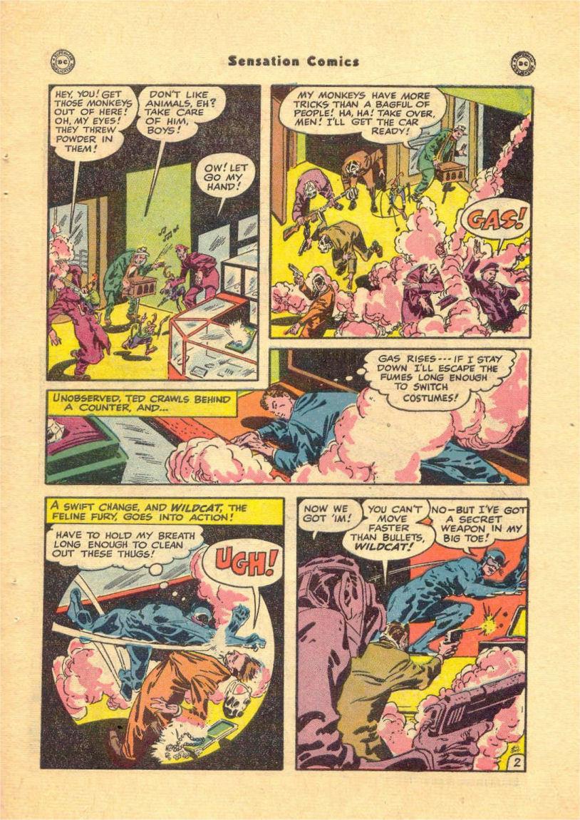 Read online Sensation (Mystery) Comics comic -  Issue #84 - 45