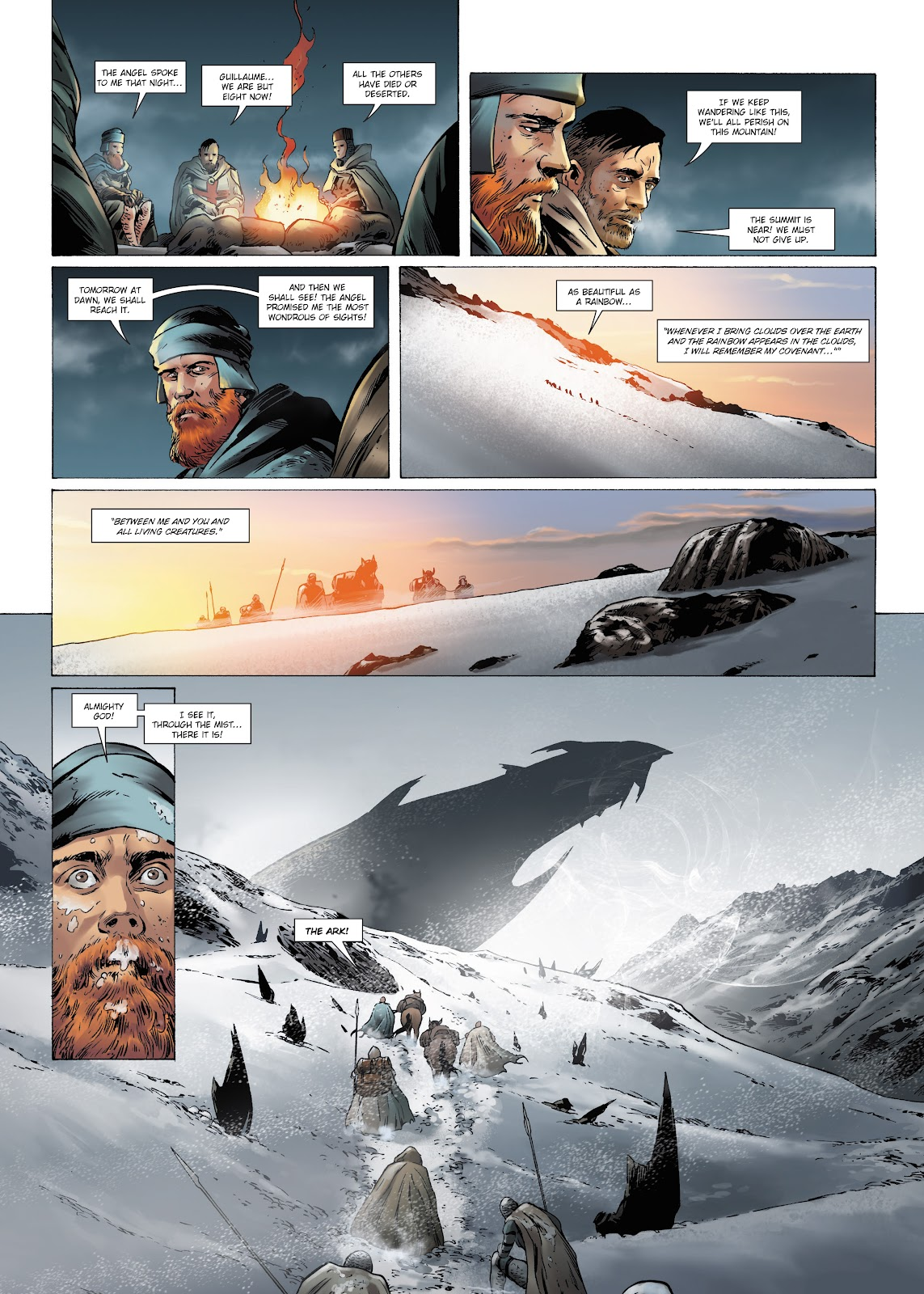 Read online Olympus Mons Vol. 1: Anomaly One comic -  Issue #4 - 9