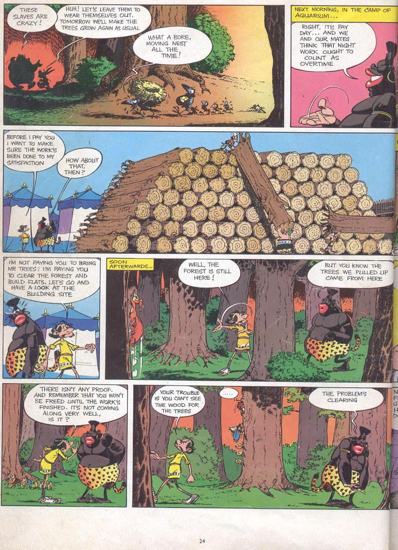 Read online Asterix comic -  Issue #17 - 22